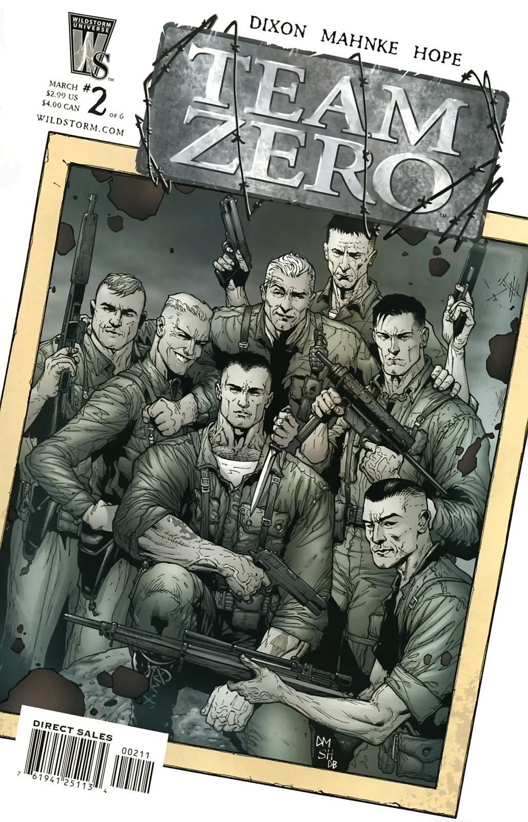 Team Zero issue 2 - Page 1