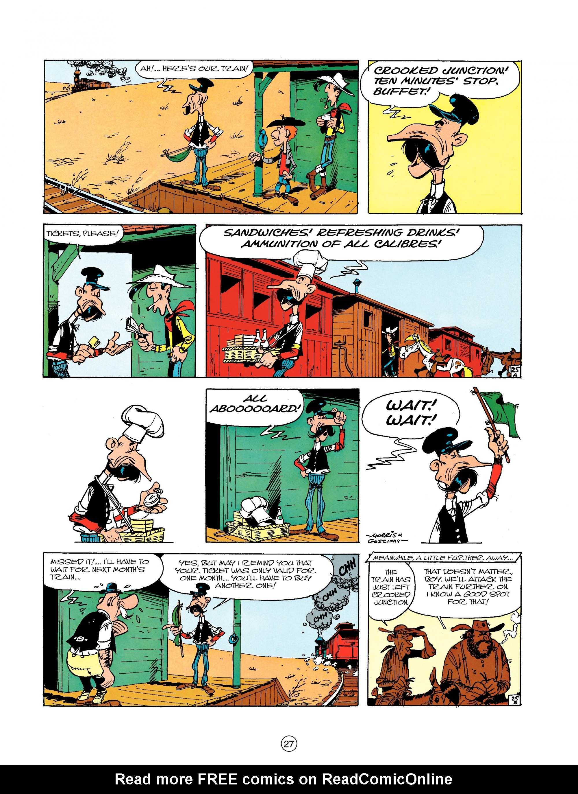 Read online A Lucky Luke Adventure comic -  Issue #18 - 27
