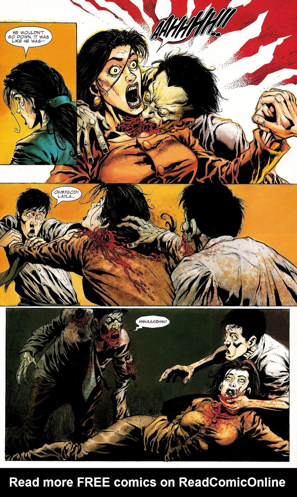 Read online Zombie (2006) comic -  Issue #1 - 14