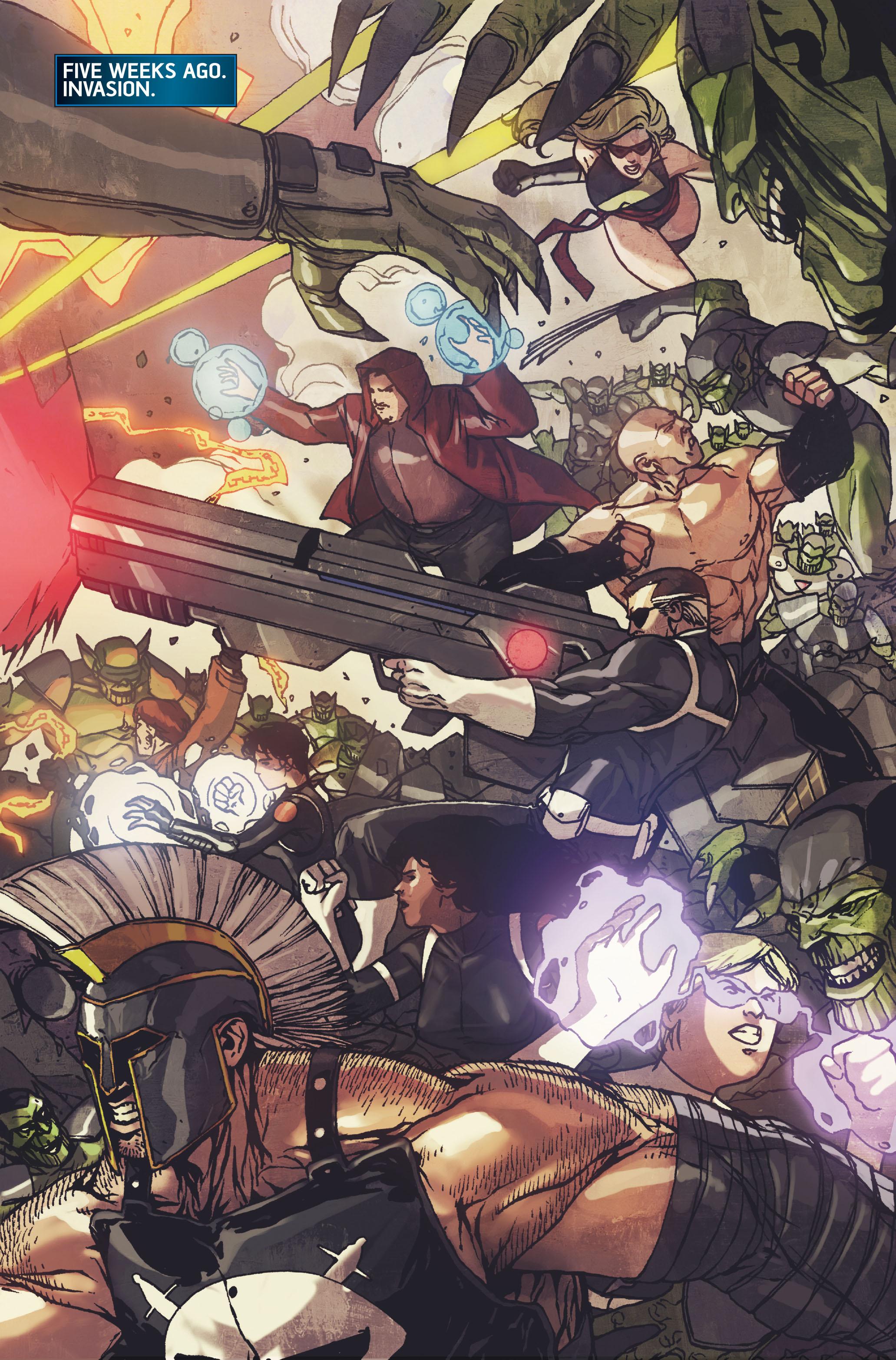 Read online Secret Warriors comic -  Issue #10 - 13