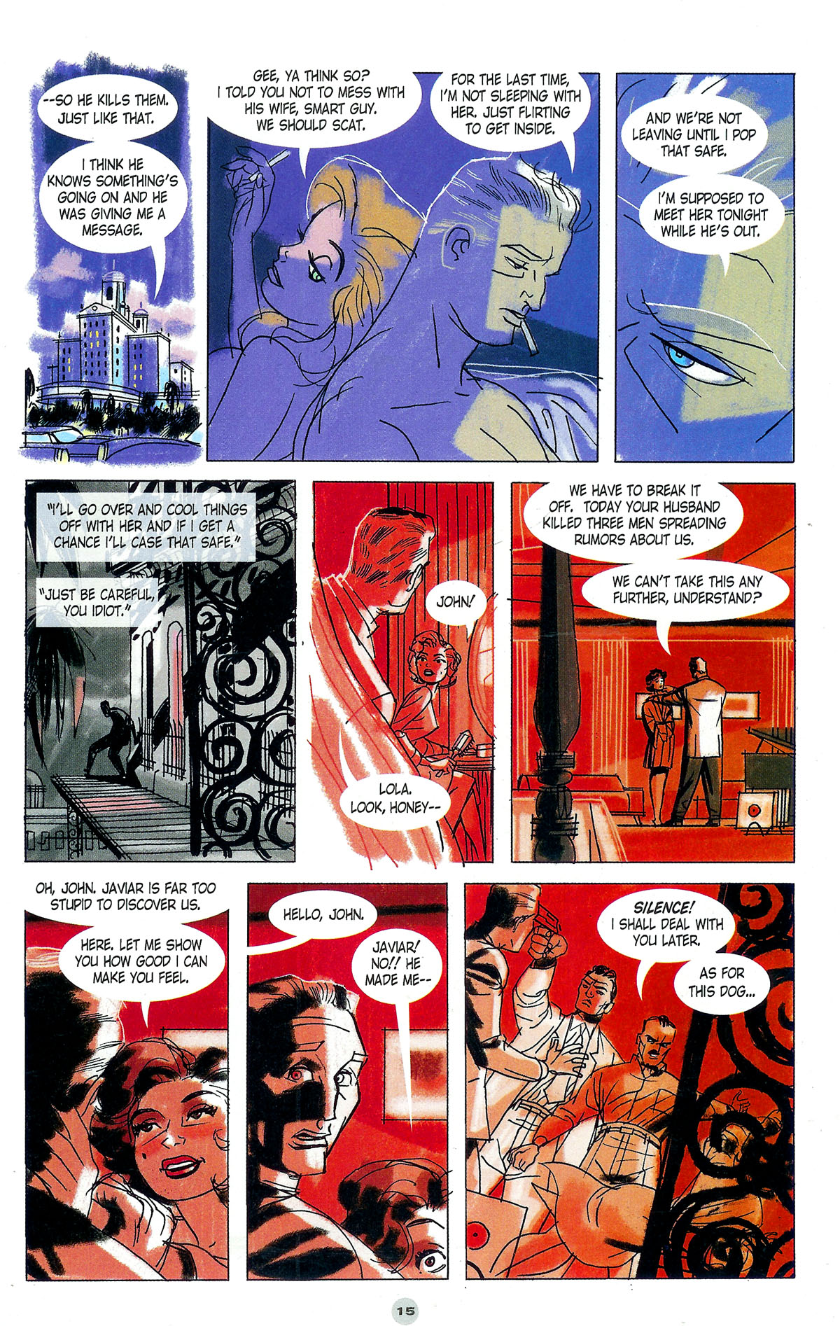 Read online Solo (2004) comic -  Issue #5 - 16