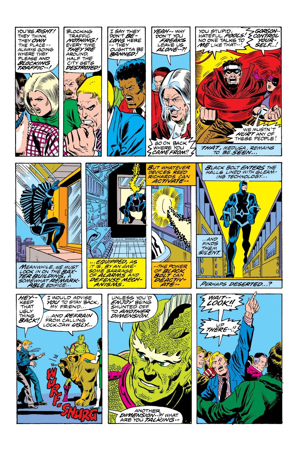 Read online Marvel Masterworks: The Inhumans comic -  Issue # TPB 2 (Part 1) - 56