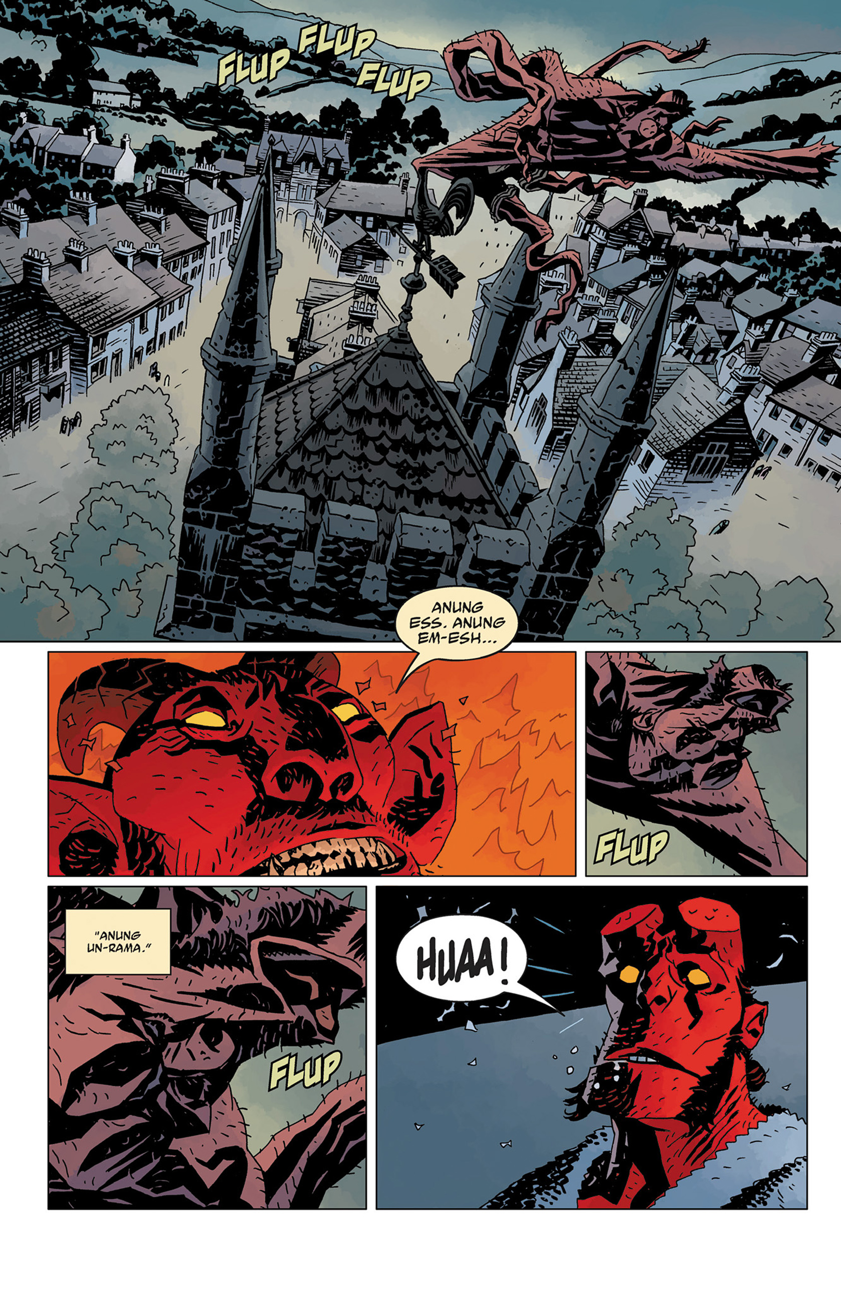 Read online Hellboy: The Crooked Man and Others comic -  Issue # TPB - 142