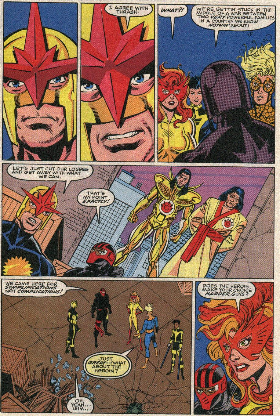 The New Warriors Issue #20 #24 - English 21
