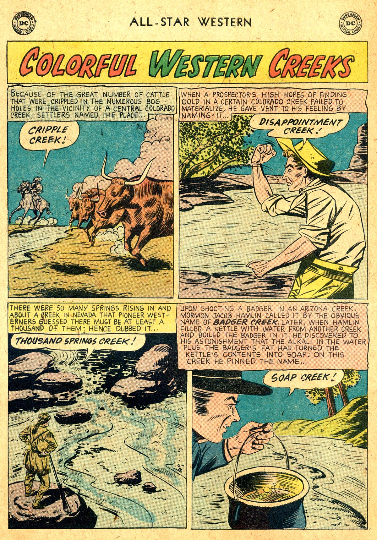 Read online All-Star Western (1951) comic -  Issue #104 - 14