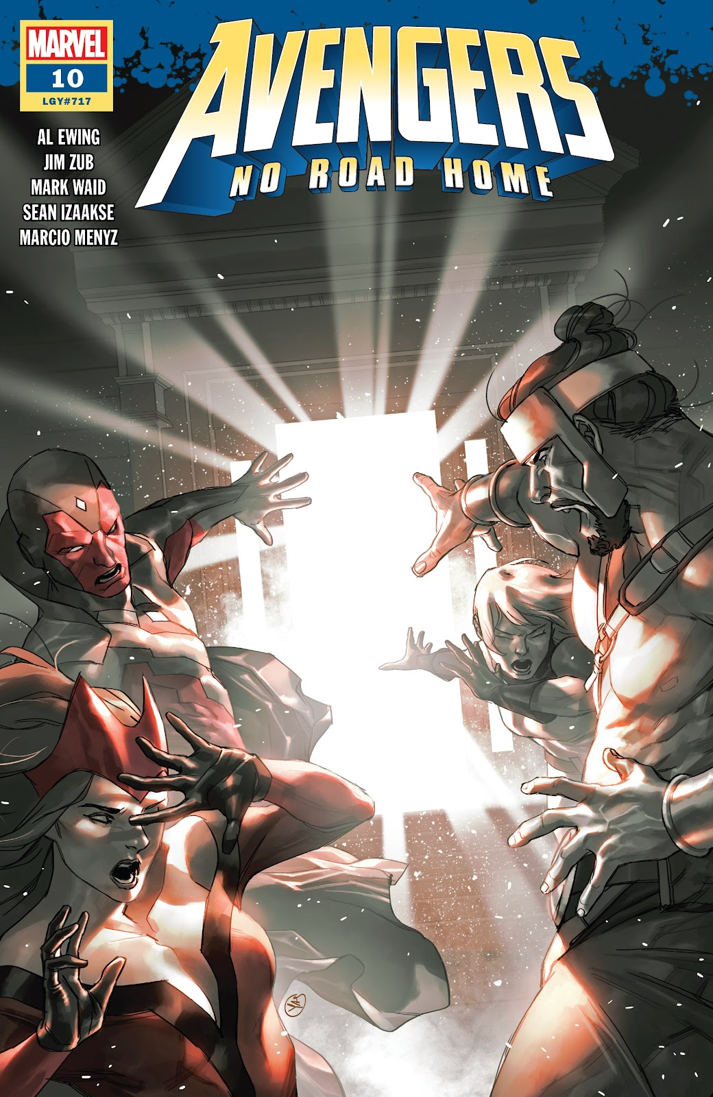 Read online Avengers No Road Home comic -  Issue #10 - 1