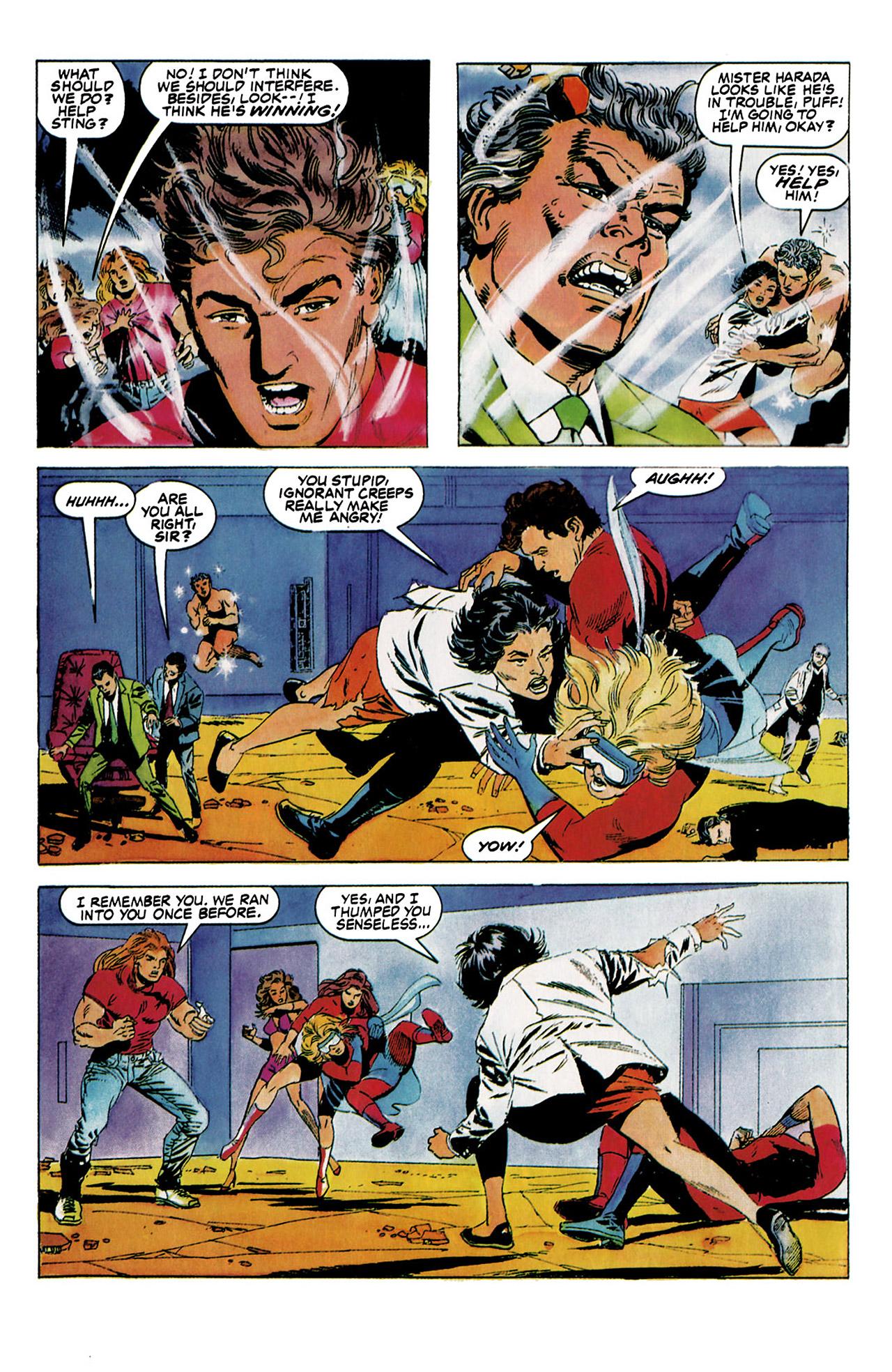 Read online Harbinger (1992) comic -  Issue #5 - 16