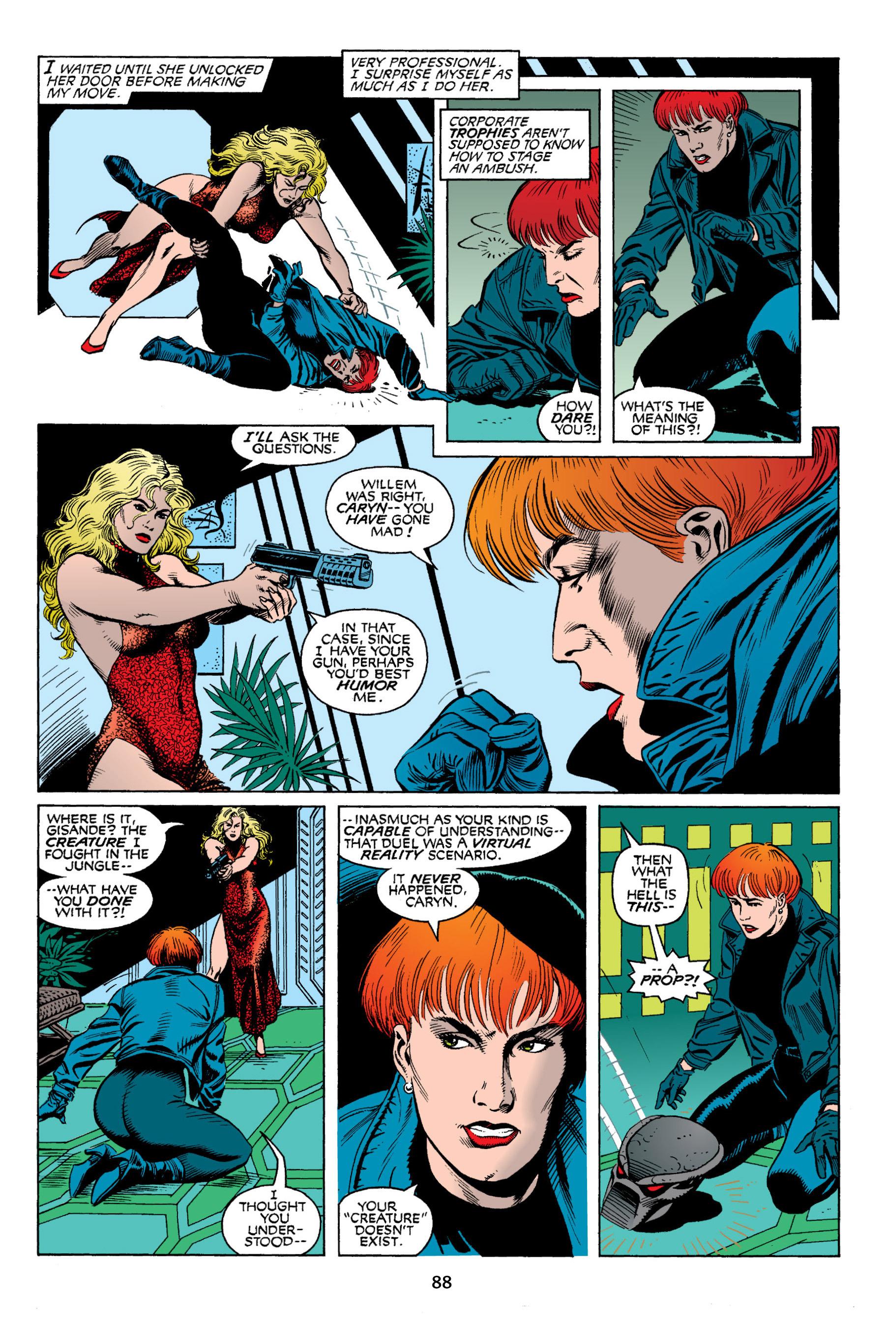 Read online Aliens vs. Predator Omnibus comic -  Issue # _TPB 2 Part 1 - 87