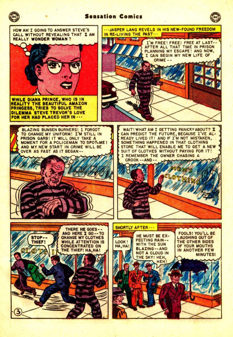 Read online Sensation (Mystery) Comics comic -  Issue #99 - 5