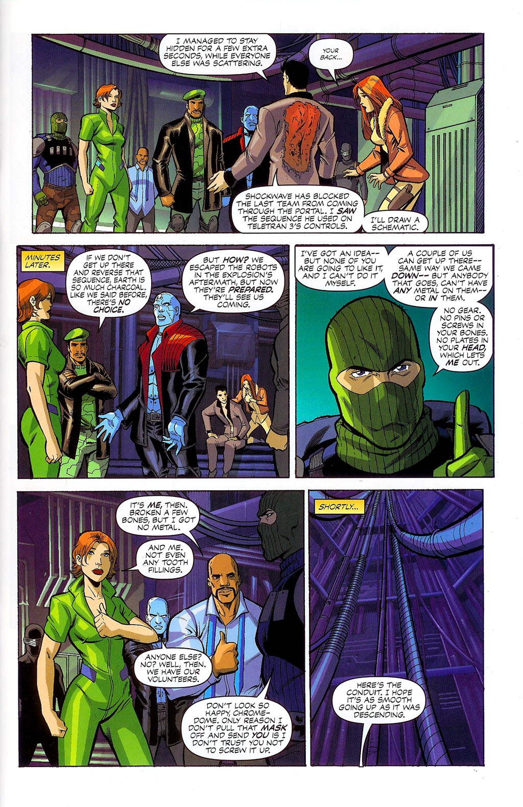 G.I. Joe vs. The Transformers II Issue #4 #5 - English 5