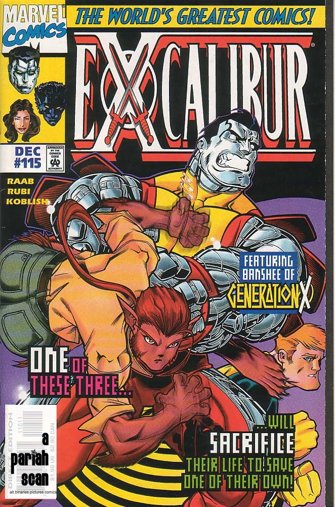 Excalibur (1988) issue 115 - Page 1