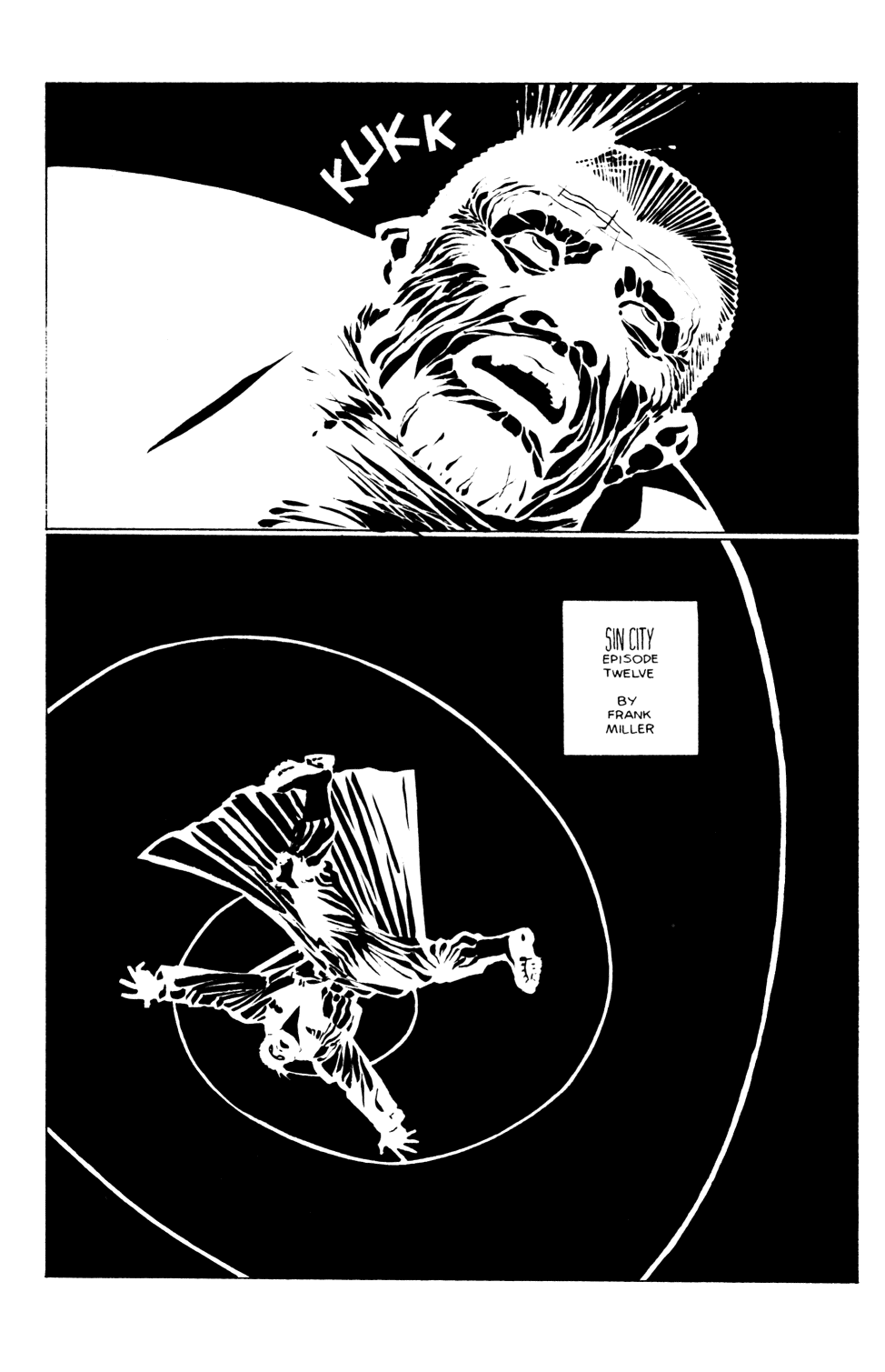 Sin City 12 Page 1