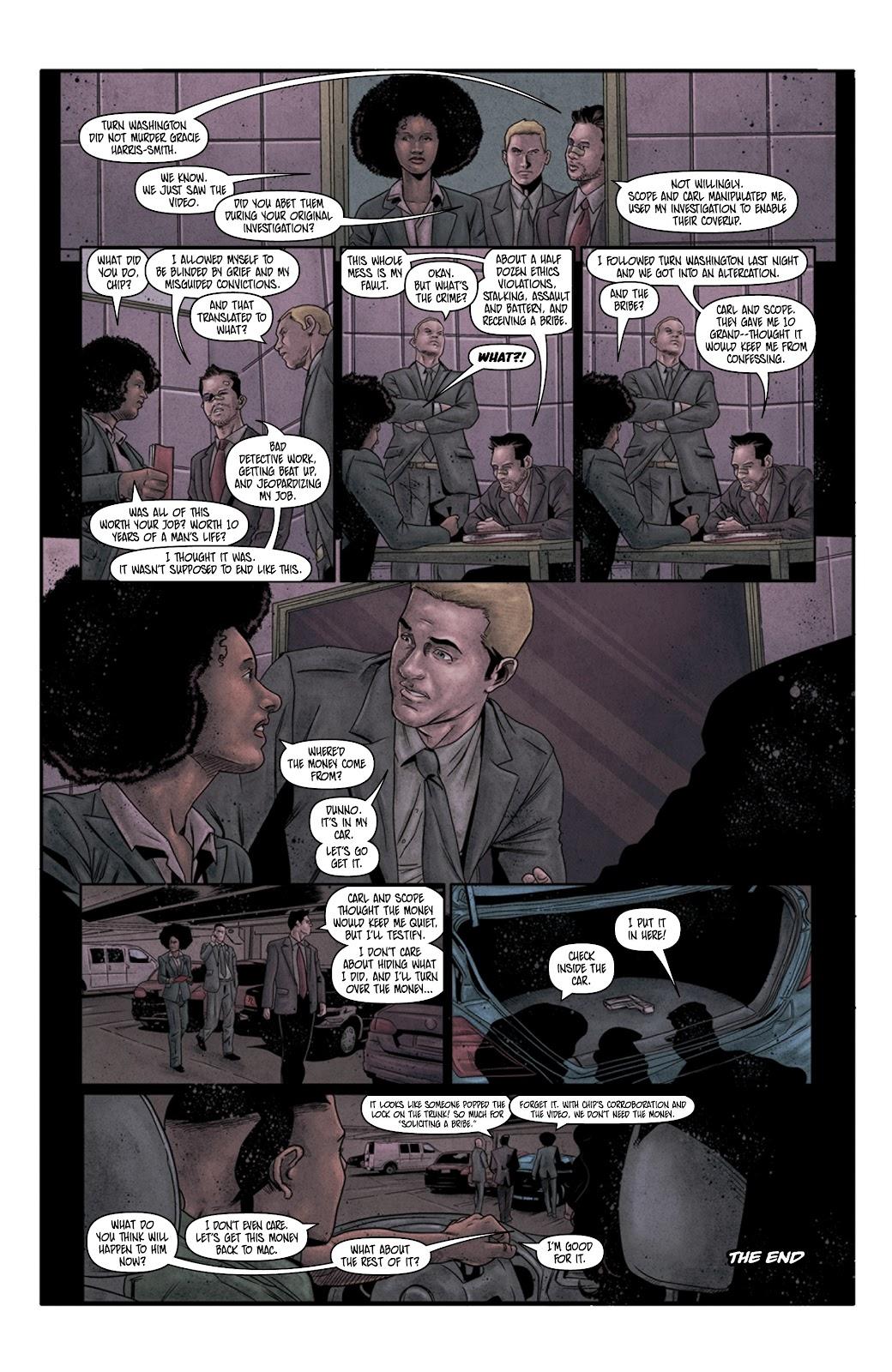 Read online Vindication comic -  Issue #4 - 24