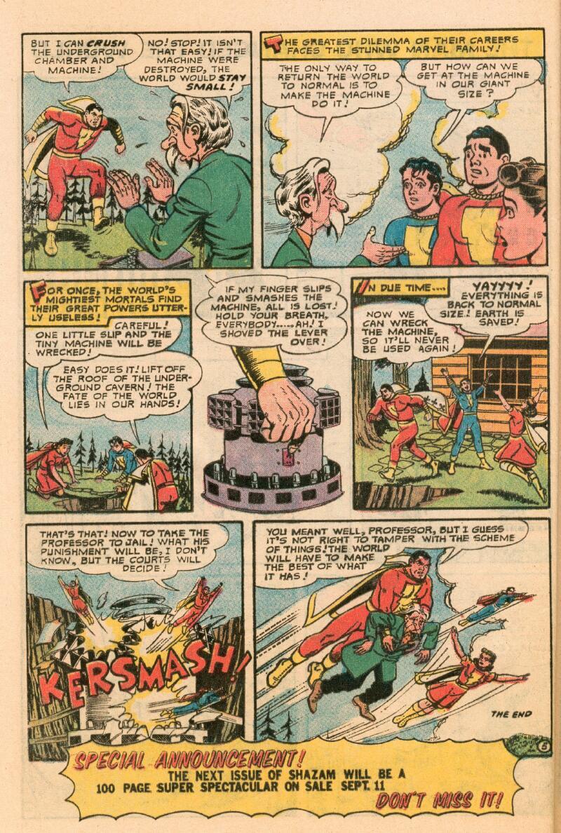 Read online Shazam! (1973) comic -  Issue #7 - 21