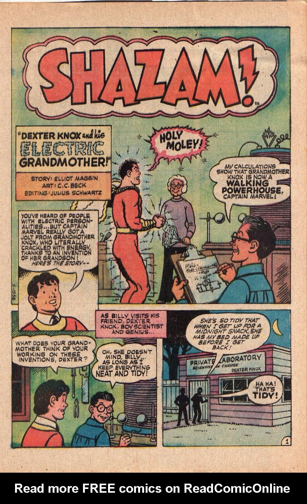 Read online Shazam! (1973) comic -  Issue #6 - 13