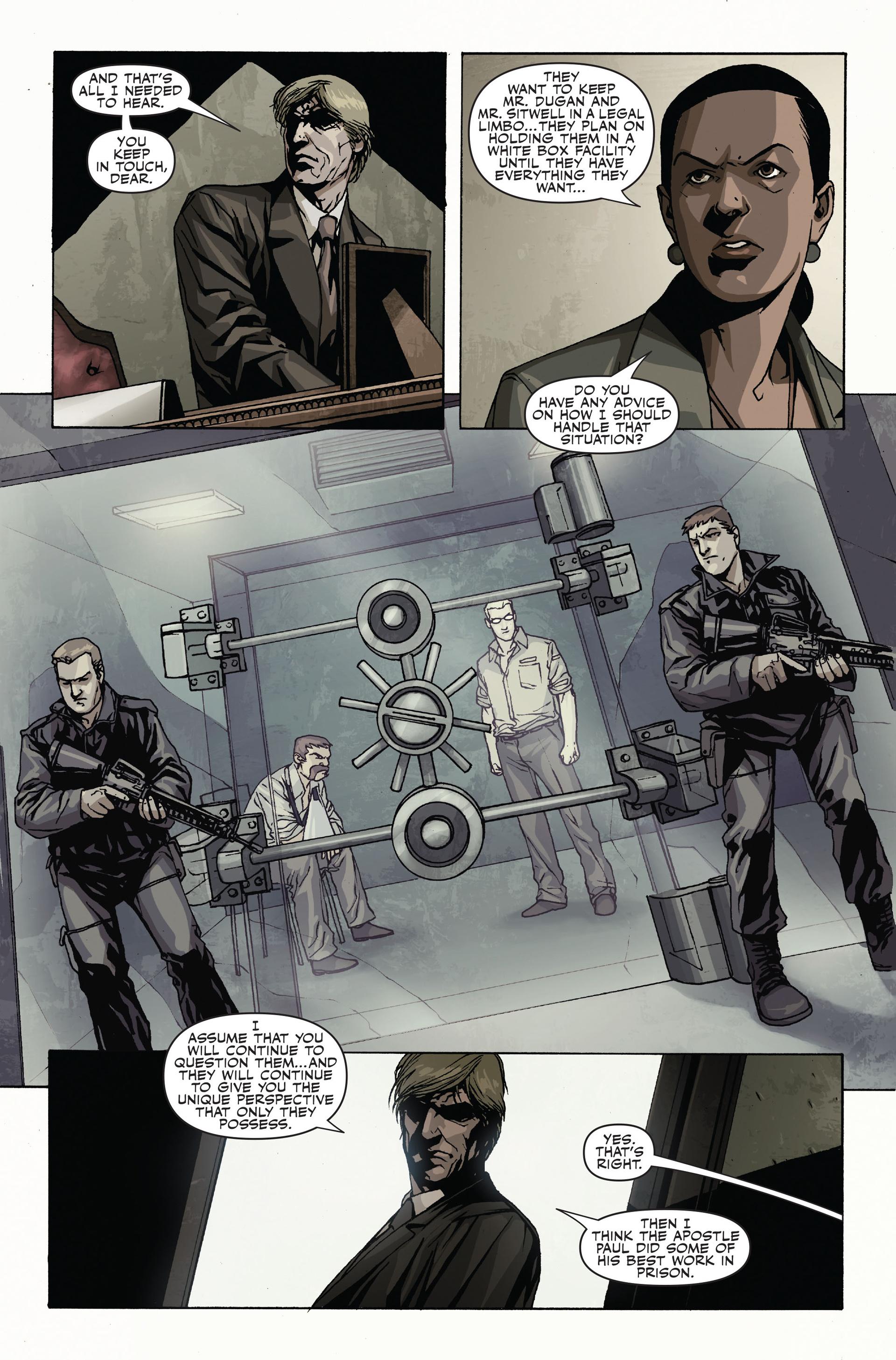 Read online Secret Warriors comic -  Issue #19 - 21