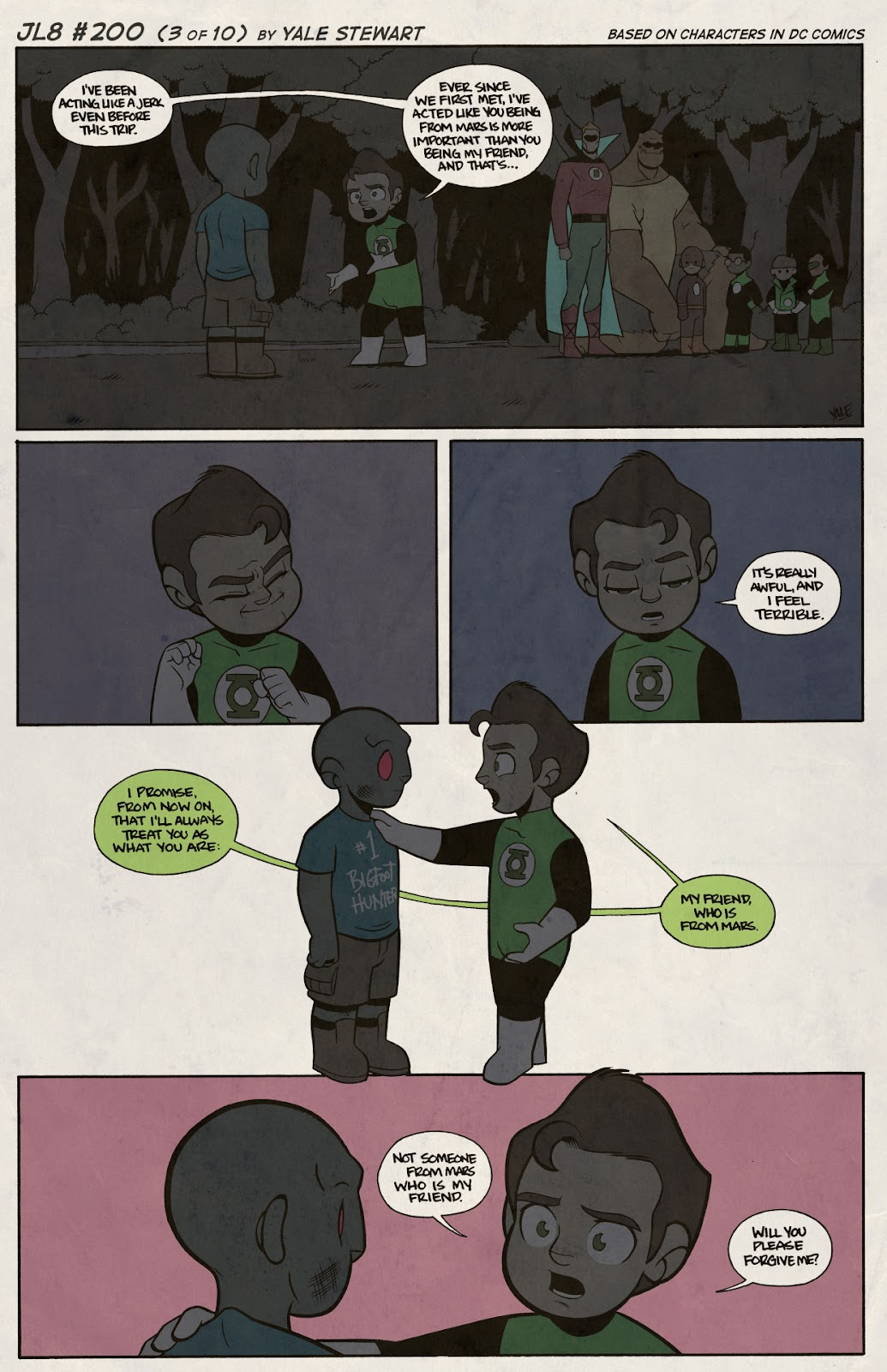 Read online JL8 – The Complete Collection comic -  Issue # TPB (Part 2) - 26