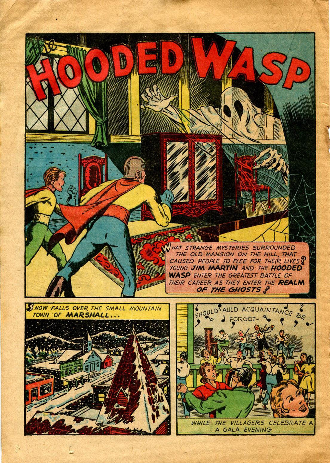 Read online Shadow Comics comic -  Issue #9 - 36