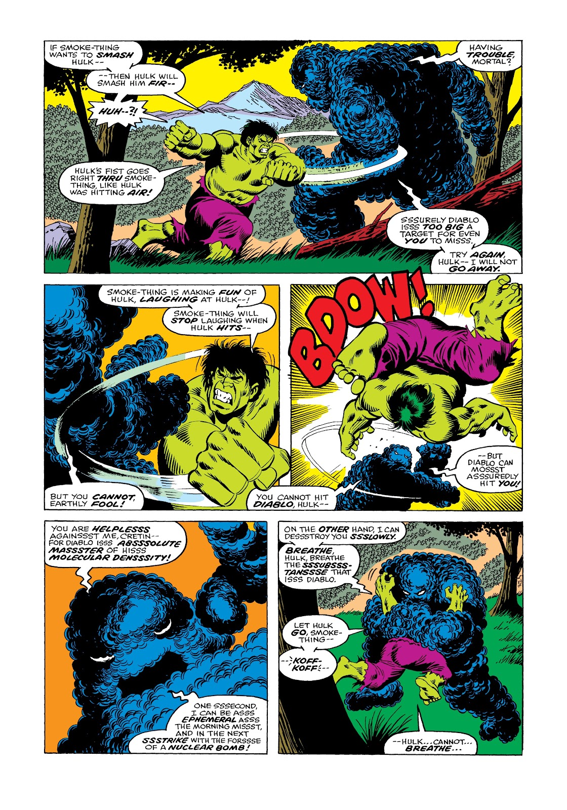 Read online Marvel Masterworks: The Incredible Hulk comic -  Issue # TPB 12 (Part 1) - 53