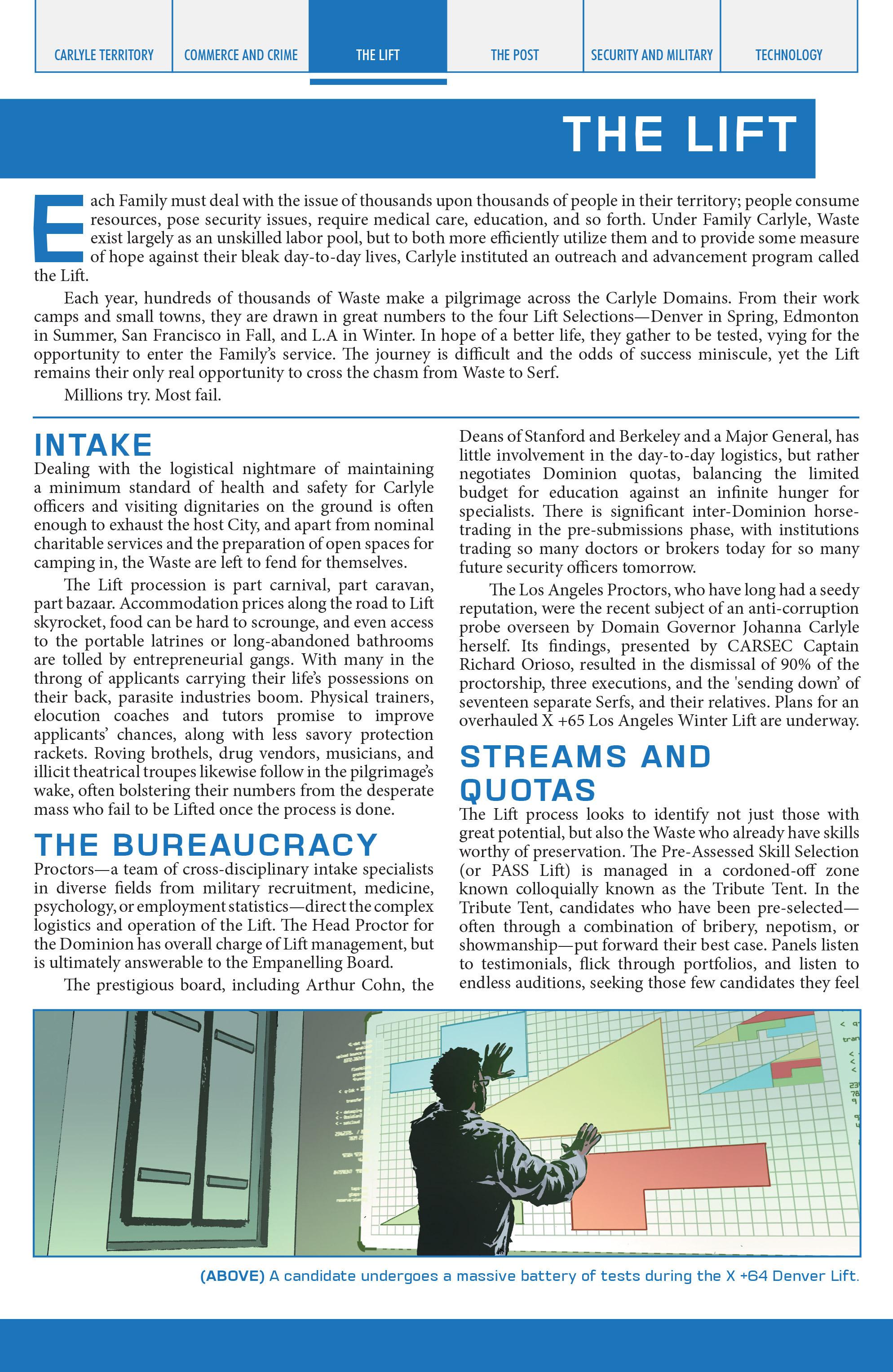 Read online Lazarus Sourcebook comic -  Issue # Vol. 1 - 16