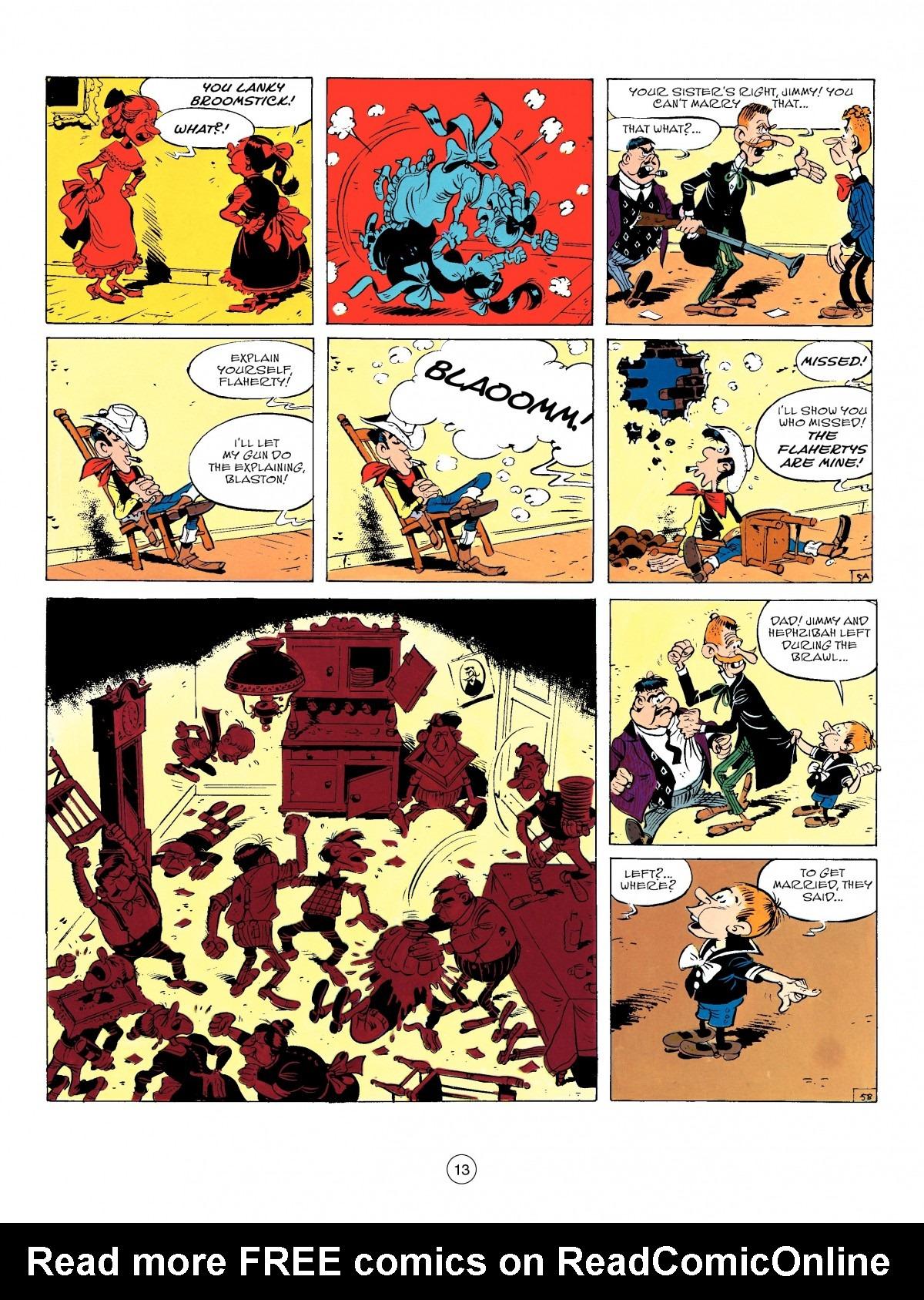 Read online A Lucky Luke Adventure comic -  Issue #50 - 13
