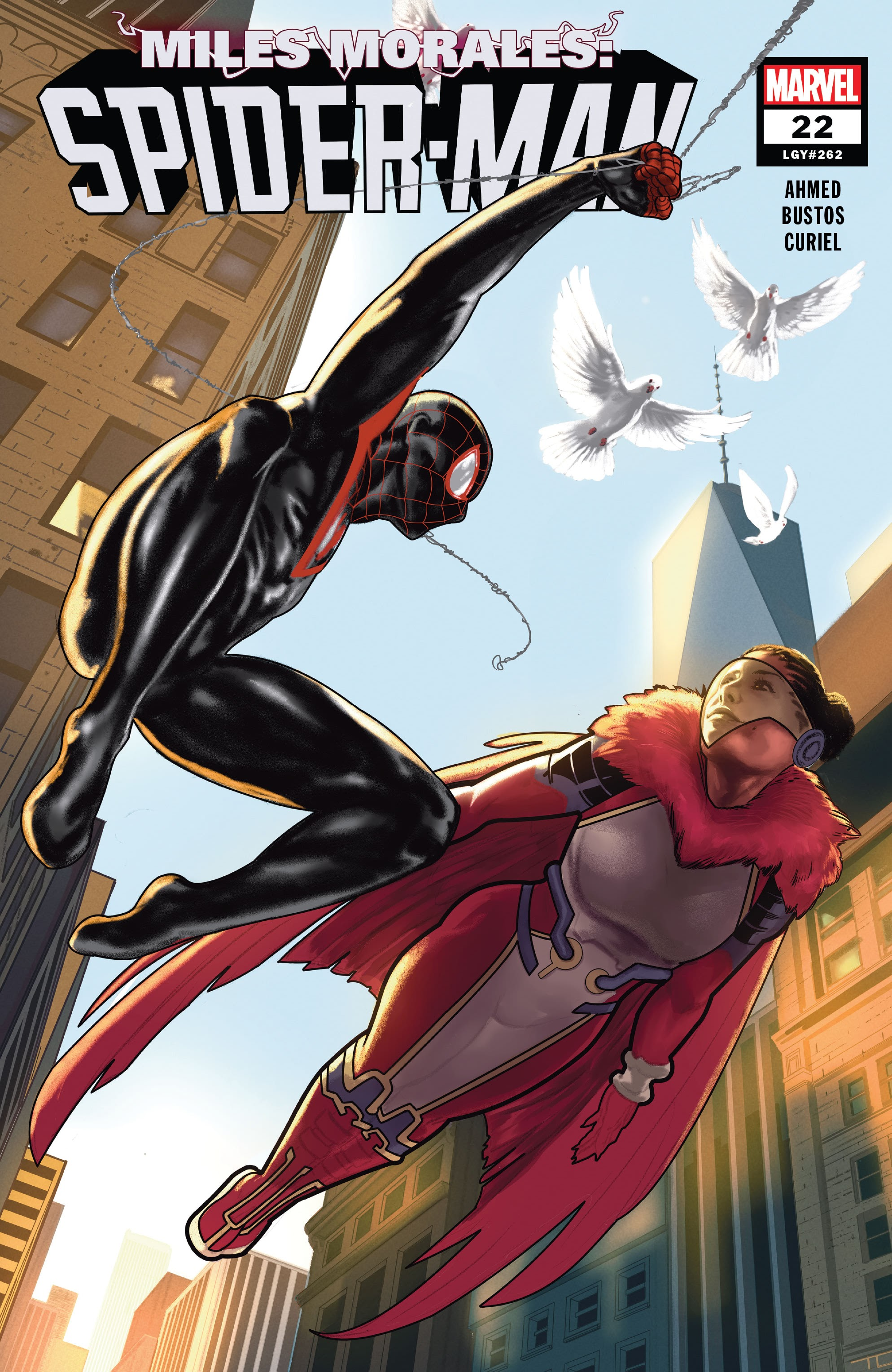 Miles Morales: Spider-Man issue 22 - Page 1
