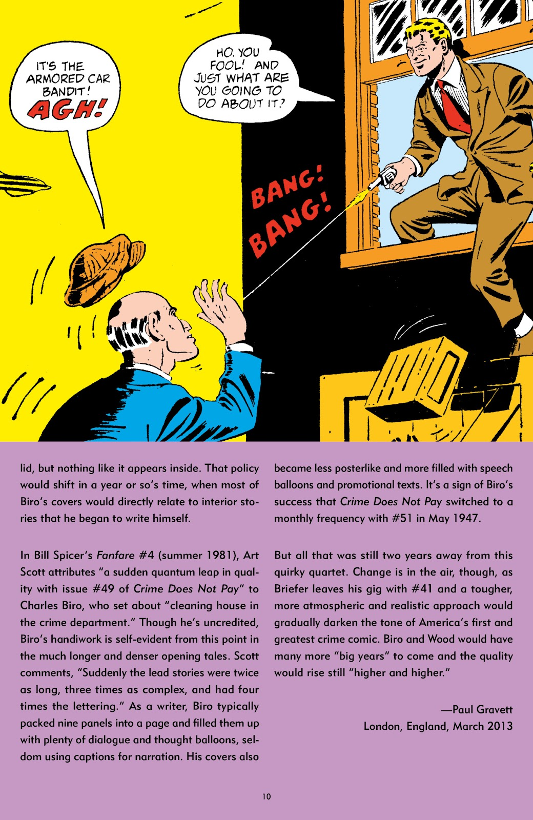 Read online Crime Does Not Pay Archives comic -  Issue # TPB 5 (Part 1) - 10