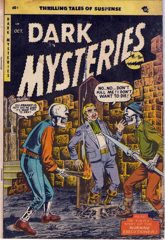 Dark Mysteries 20 Page 1