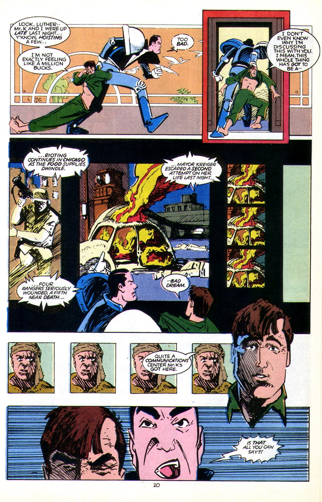 Read online American Flagg! comic -  Issue #43 - 26