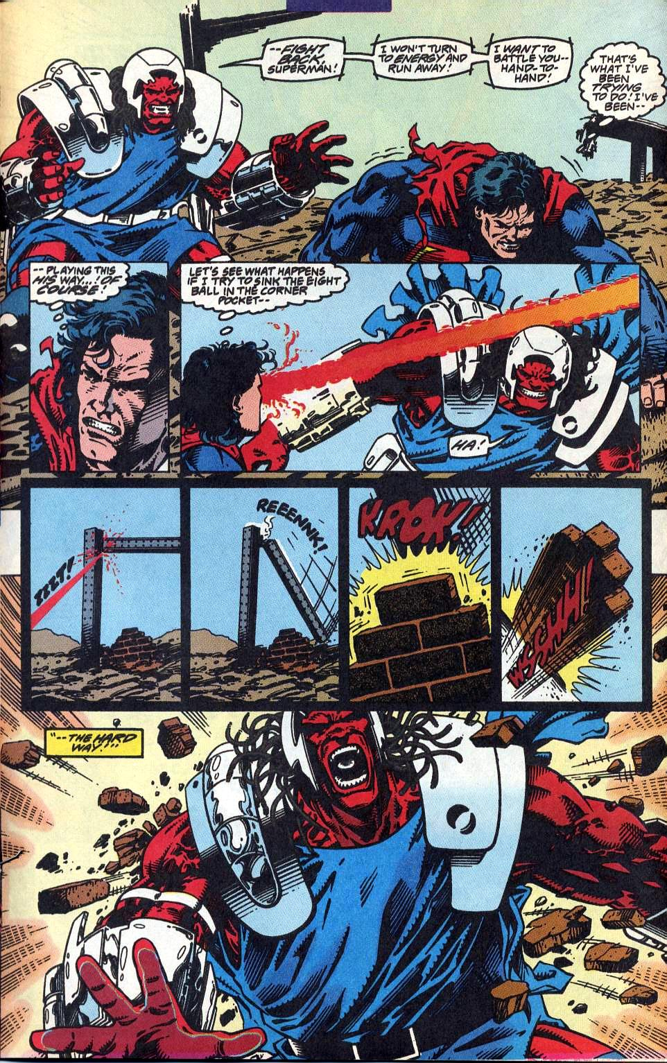 Read online Adventures of Superman (1987) comic -  Issue #515 - 15
