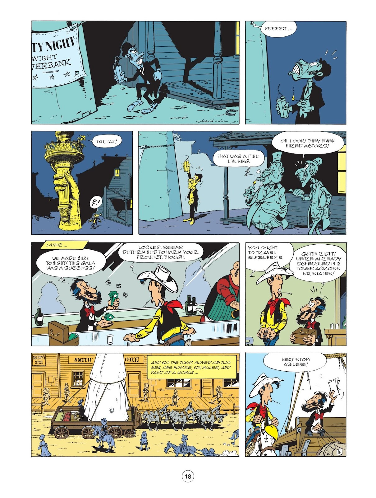 A Lucky Luke Adventure issue 71 - Page 20