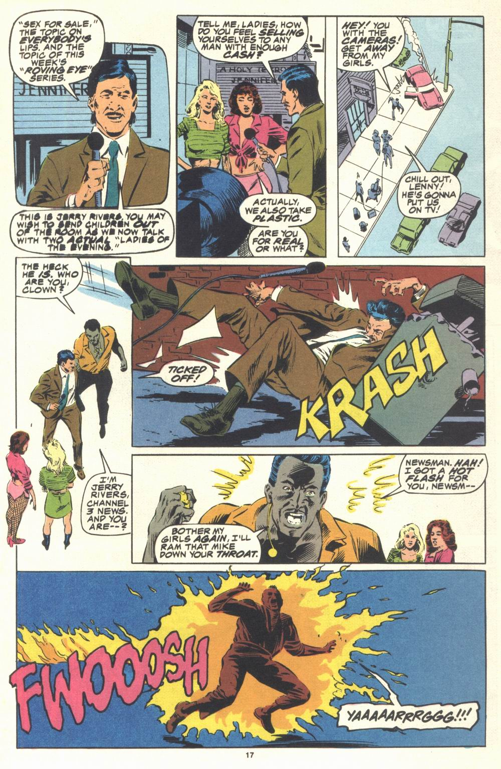 Read online Justice (1986) comic -  Issue #21 - 19