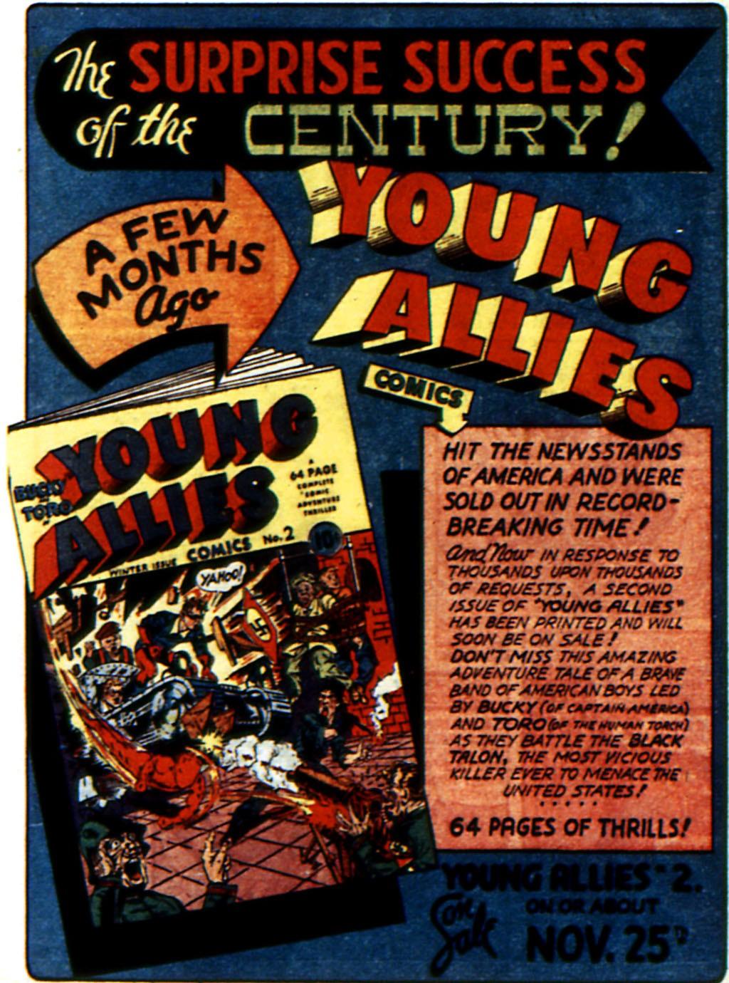 Read online All-Winners Comics comic -  Issue #3 - 55