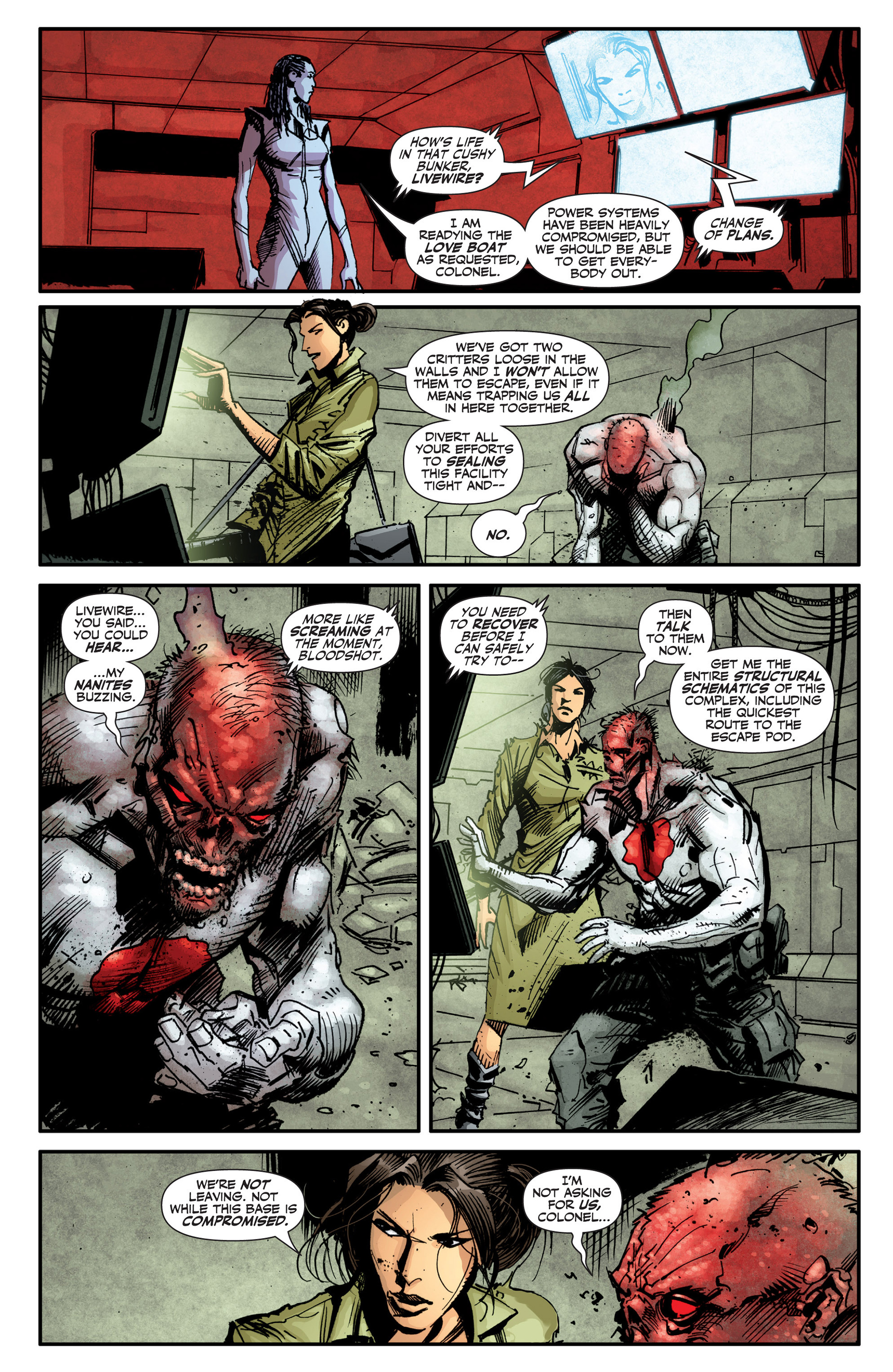 Read online Armor Hunters: Bloodshot comic -  Issue #2 - 15