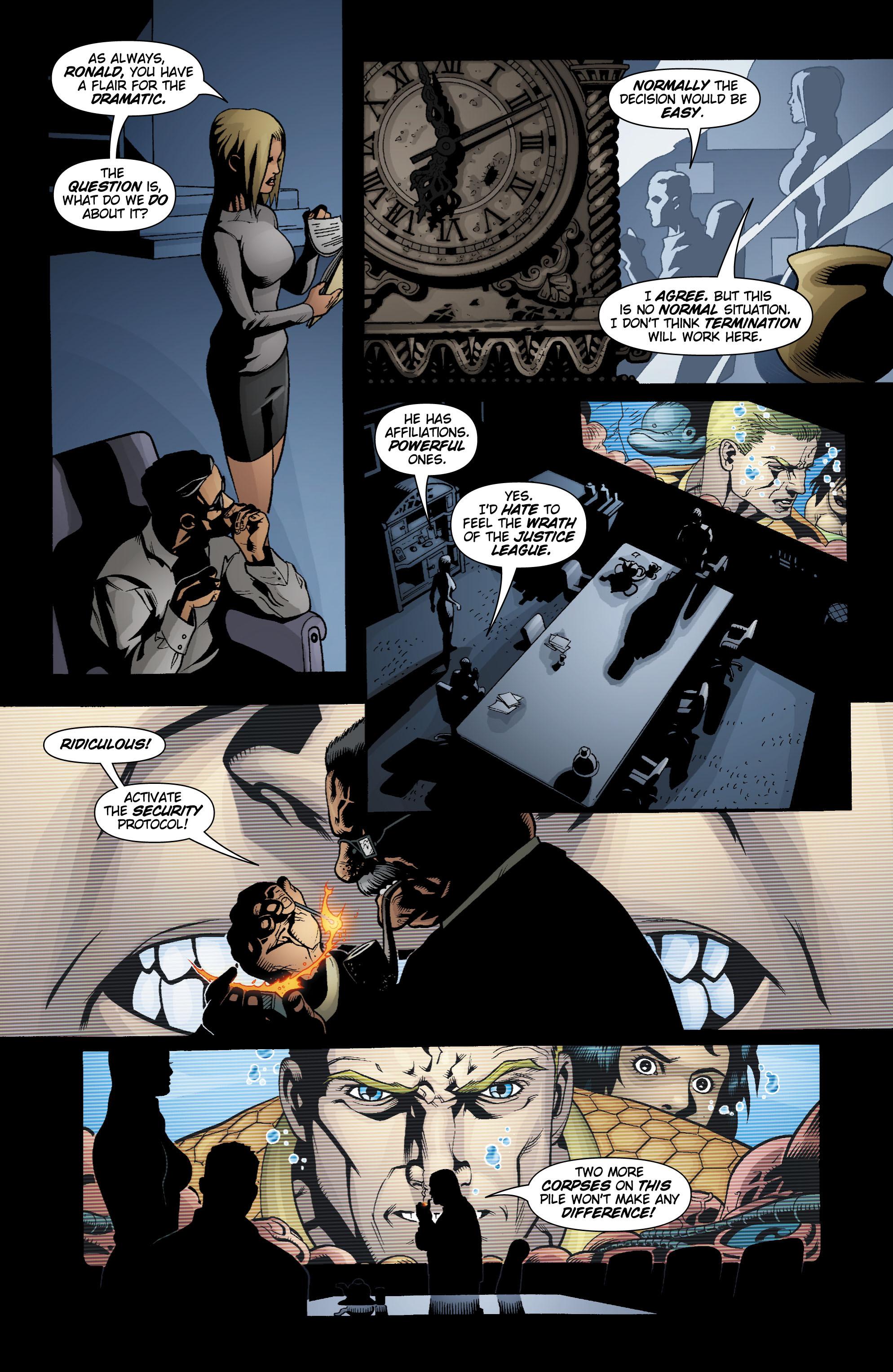 Read online Aquaman (2003) comic -  Issue #18 - 7