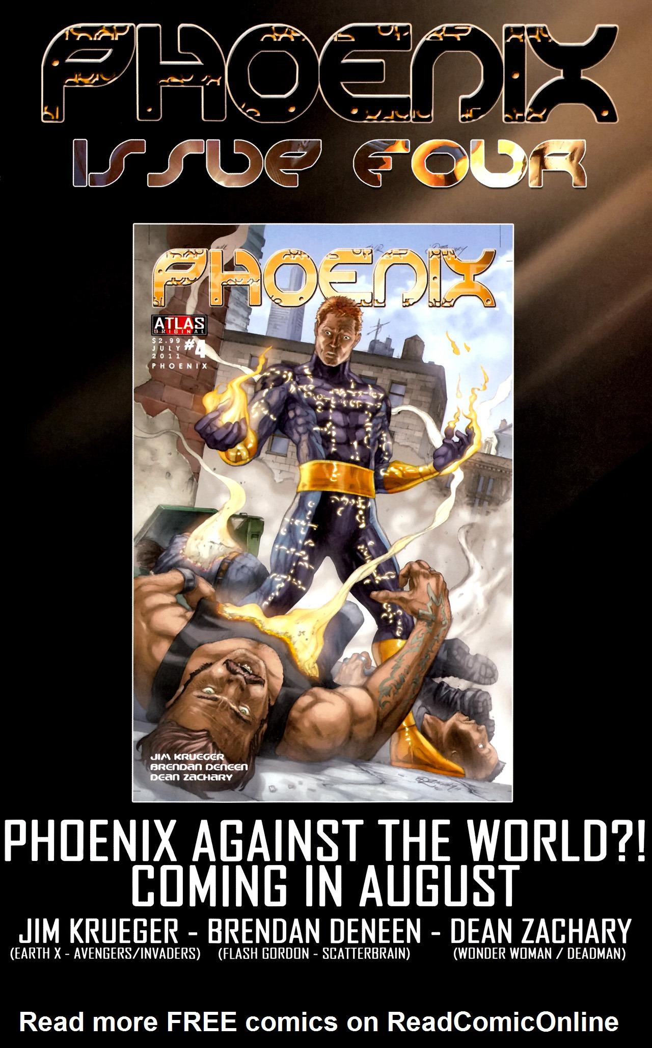Read online Phoenix comic -  Issue #3 - 24