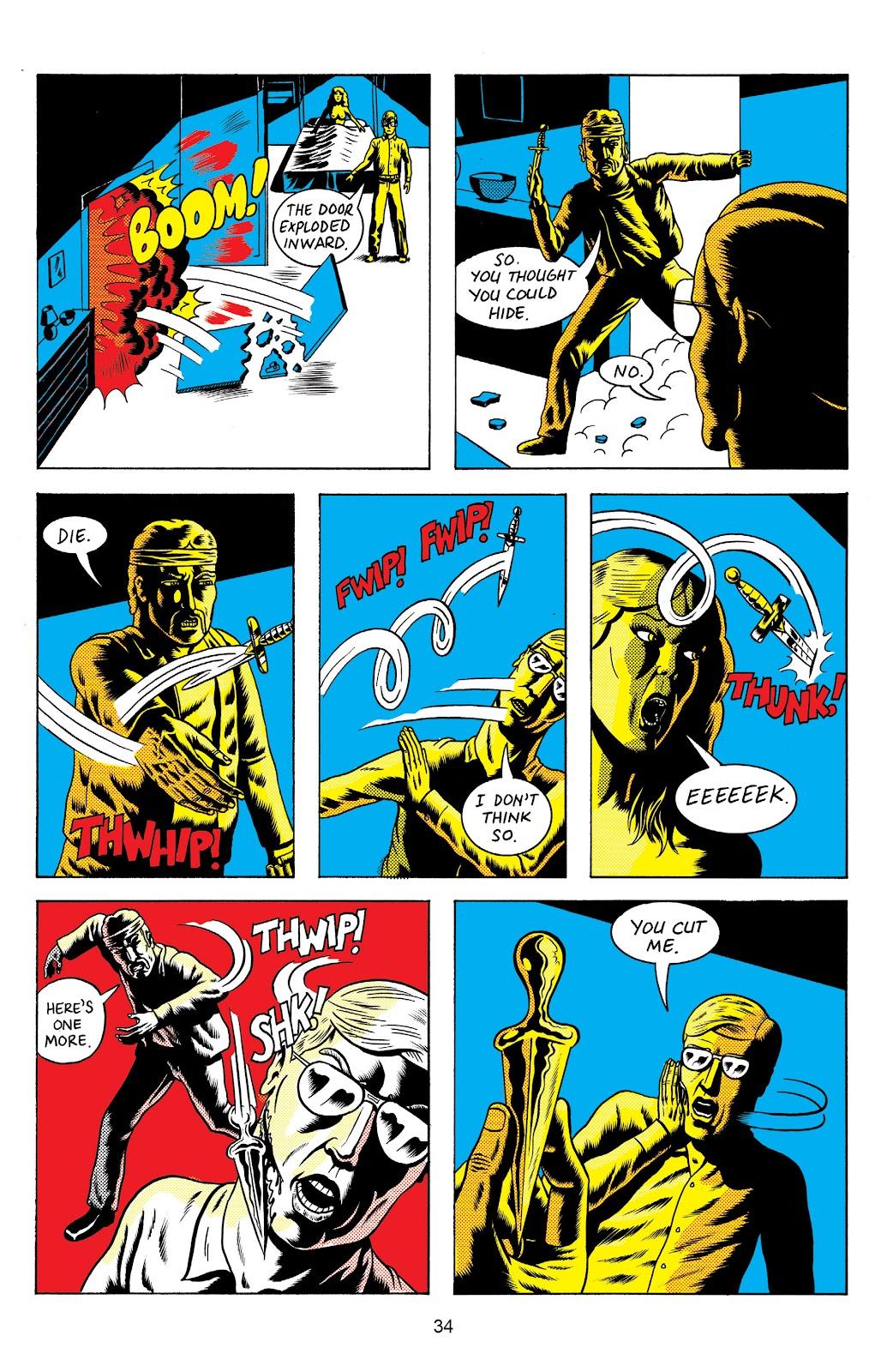 Read online Terror Assaulter: O.M.W.O.T (One Man War On Terror) comic -  Issue # TPB - 35