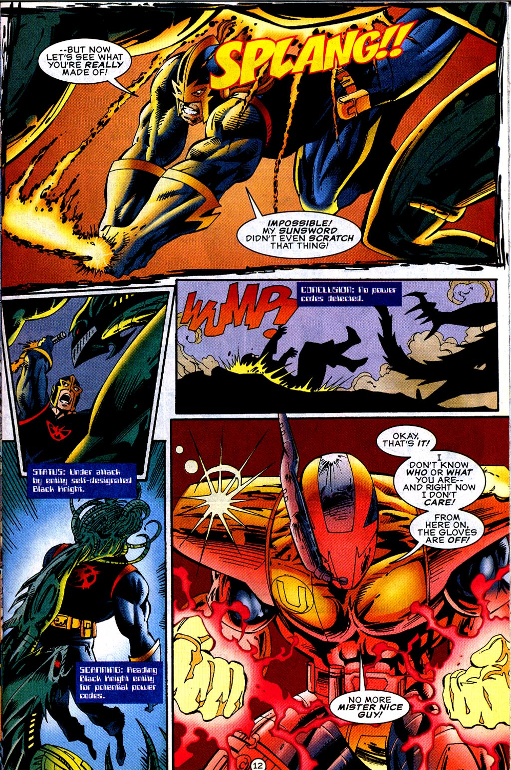 Read online UltraForce (1995) comic -  Issue #12 - 14