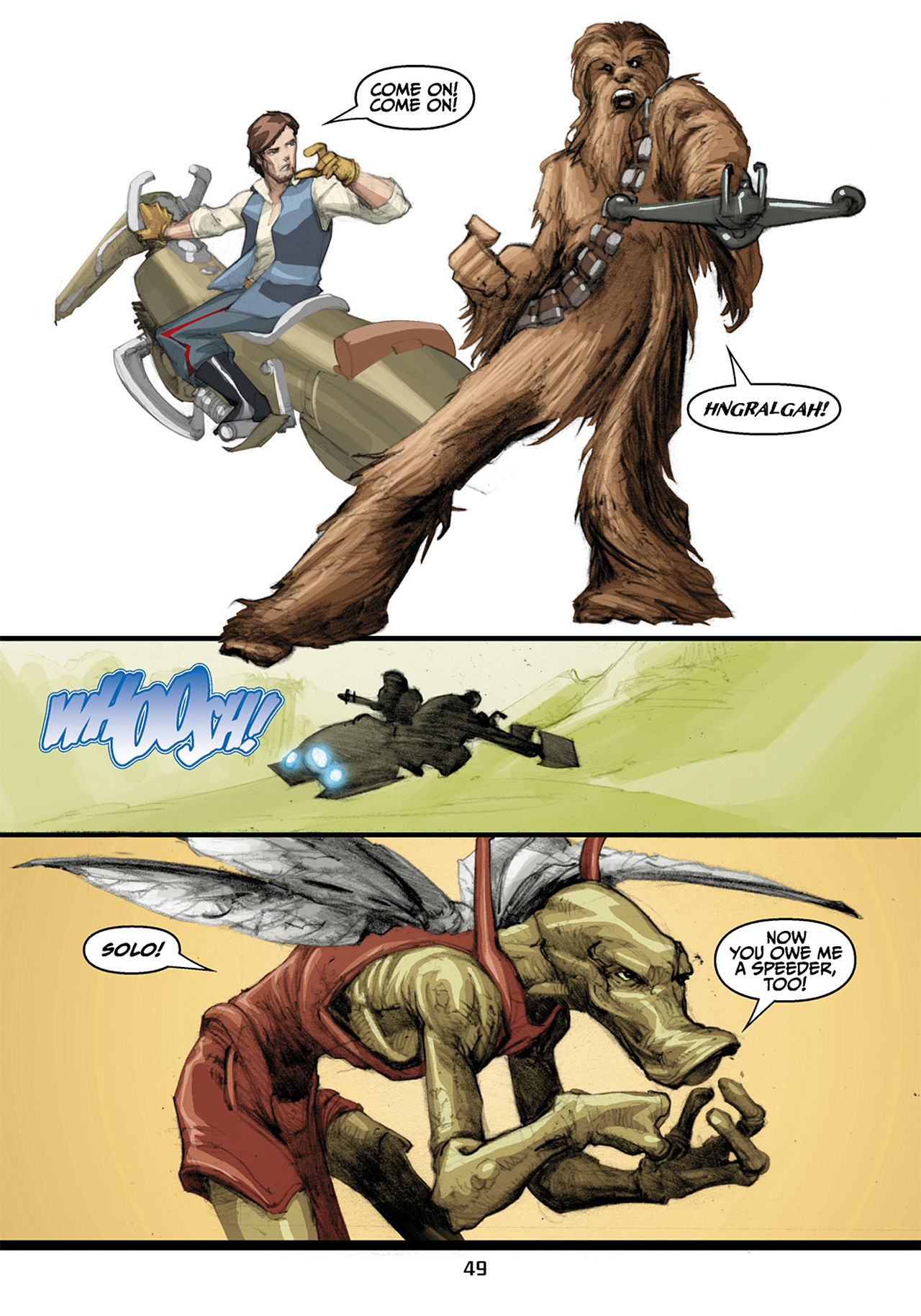 Read online Star Wars Omnibus comic -  Issue # Vol. 33 - 131