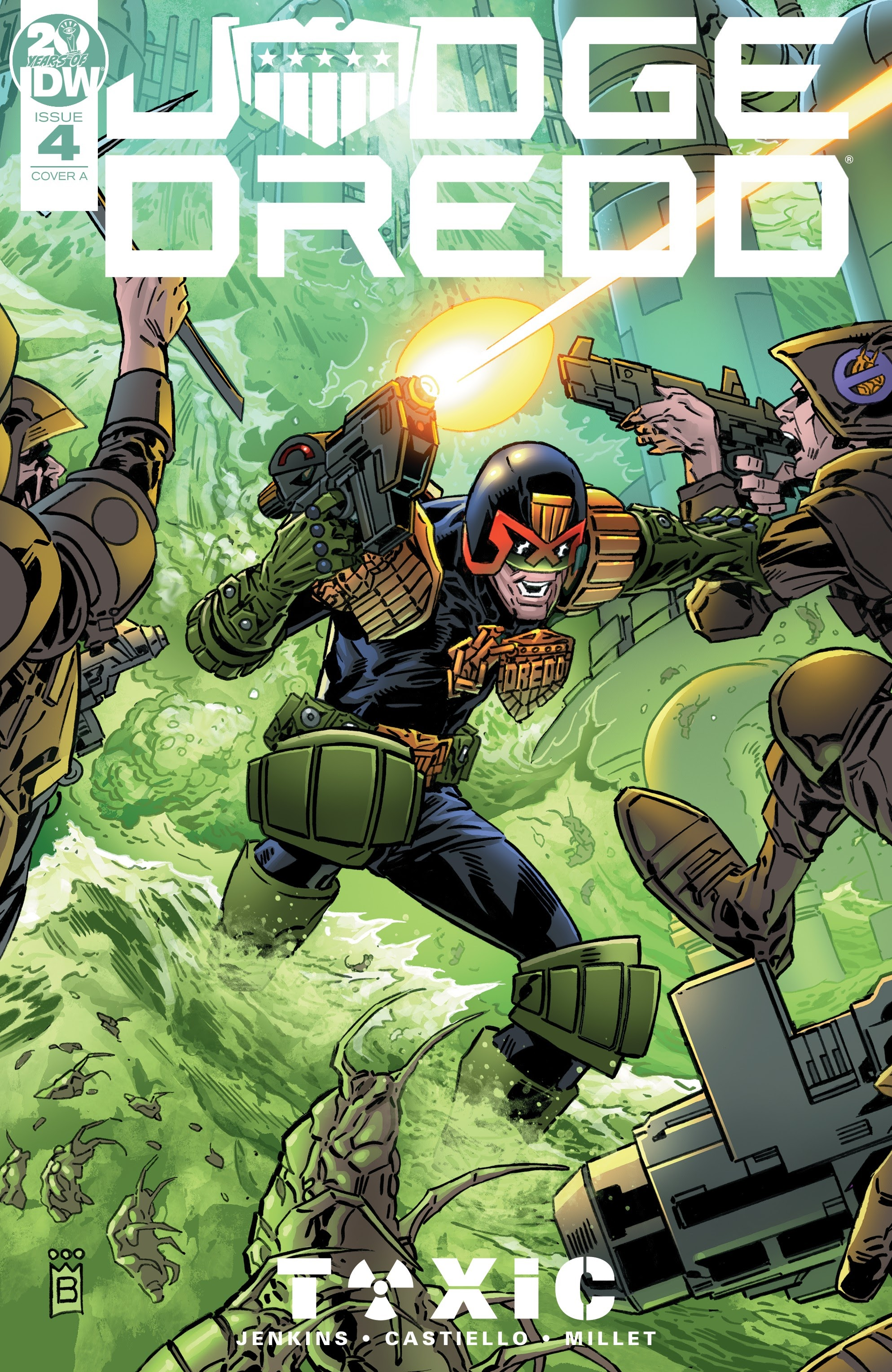 Judge Dredd: Toxic #4 #4 - English 1