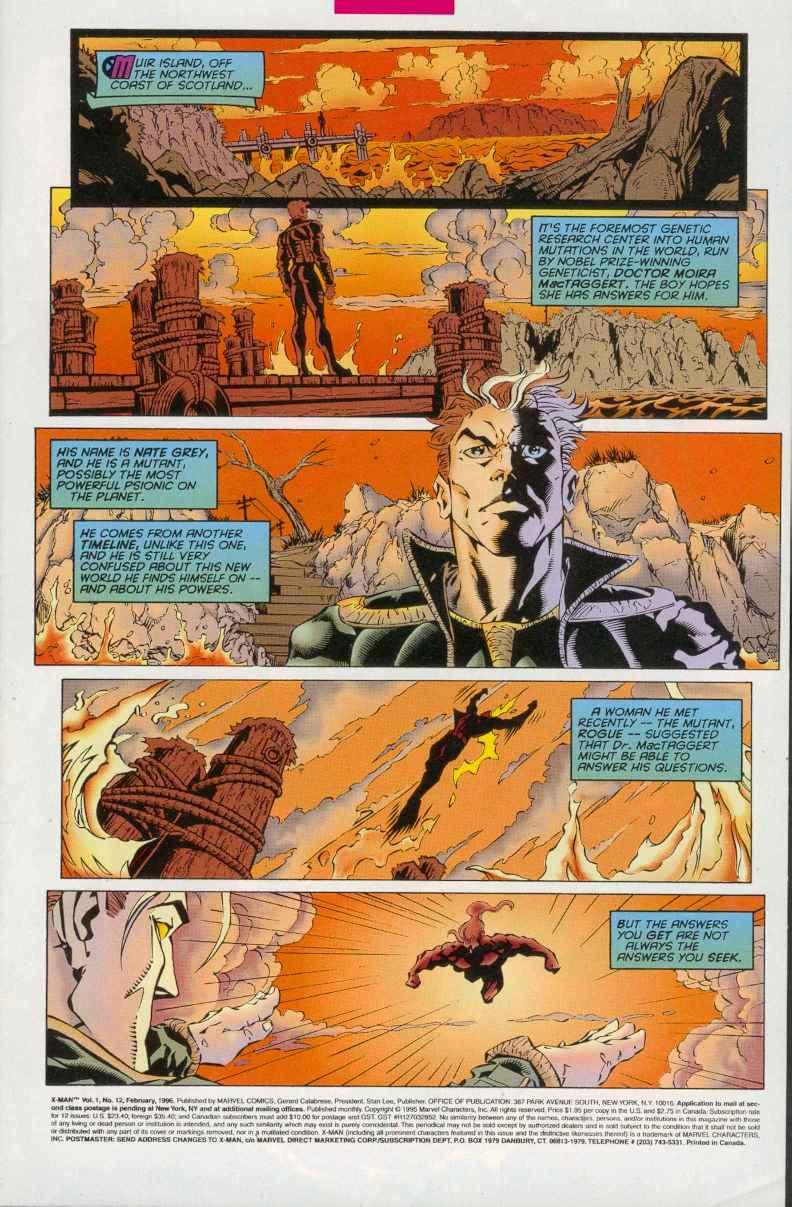 X-Man 12 Page 2