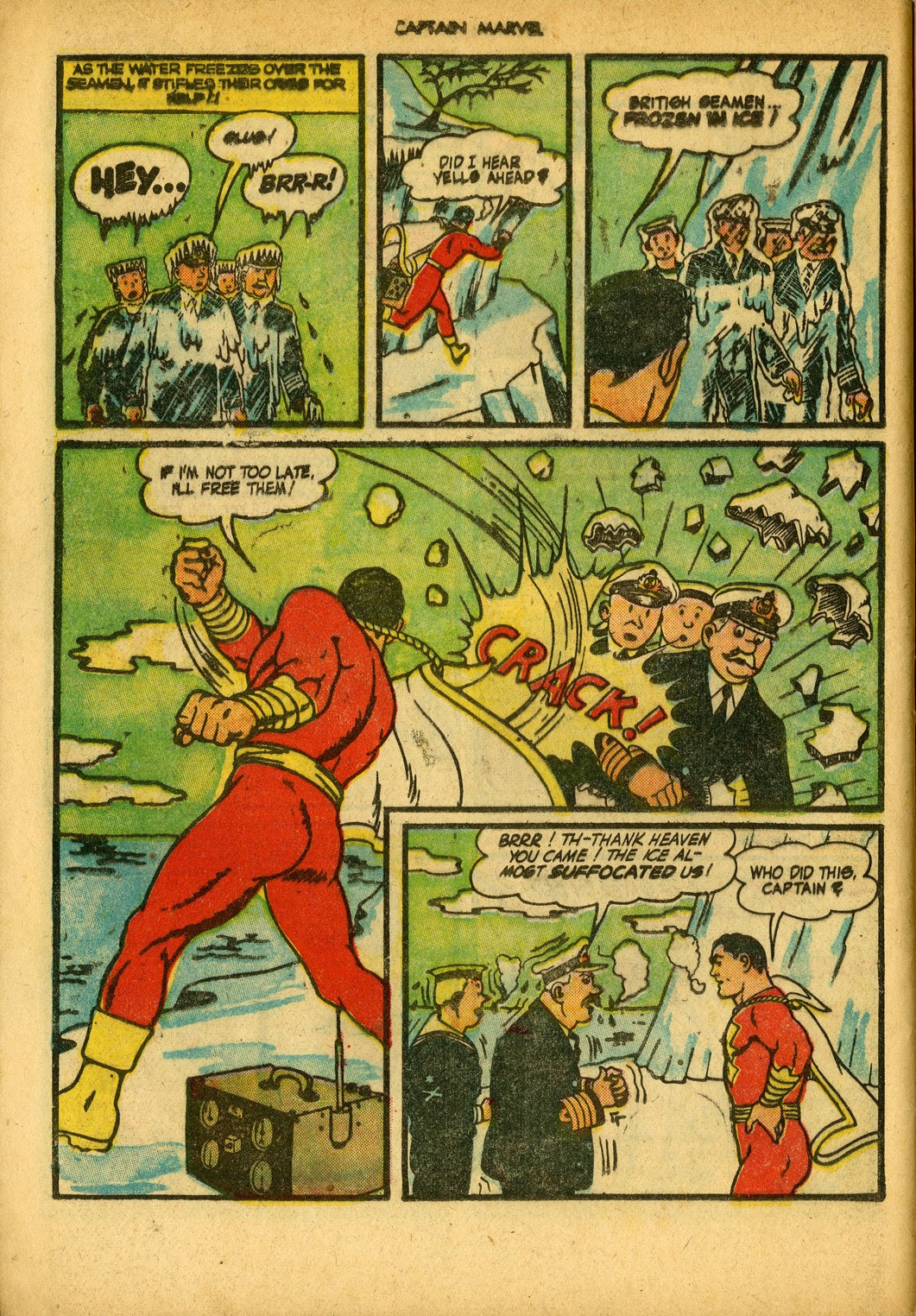 Captain Marvel Adventures issue 34 - Page 56