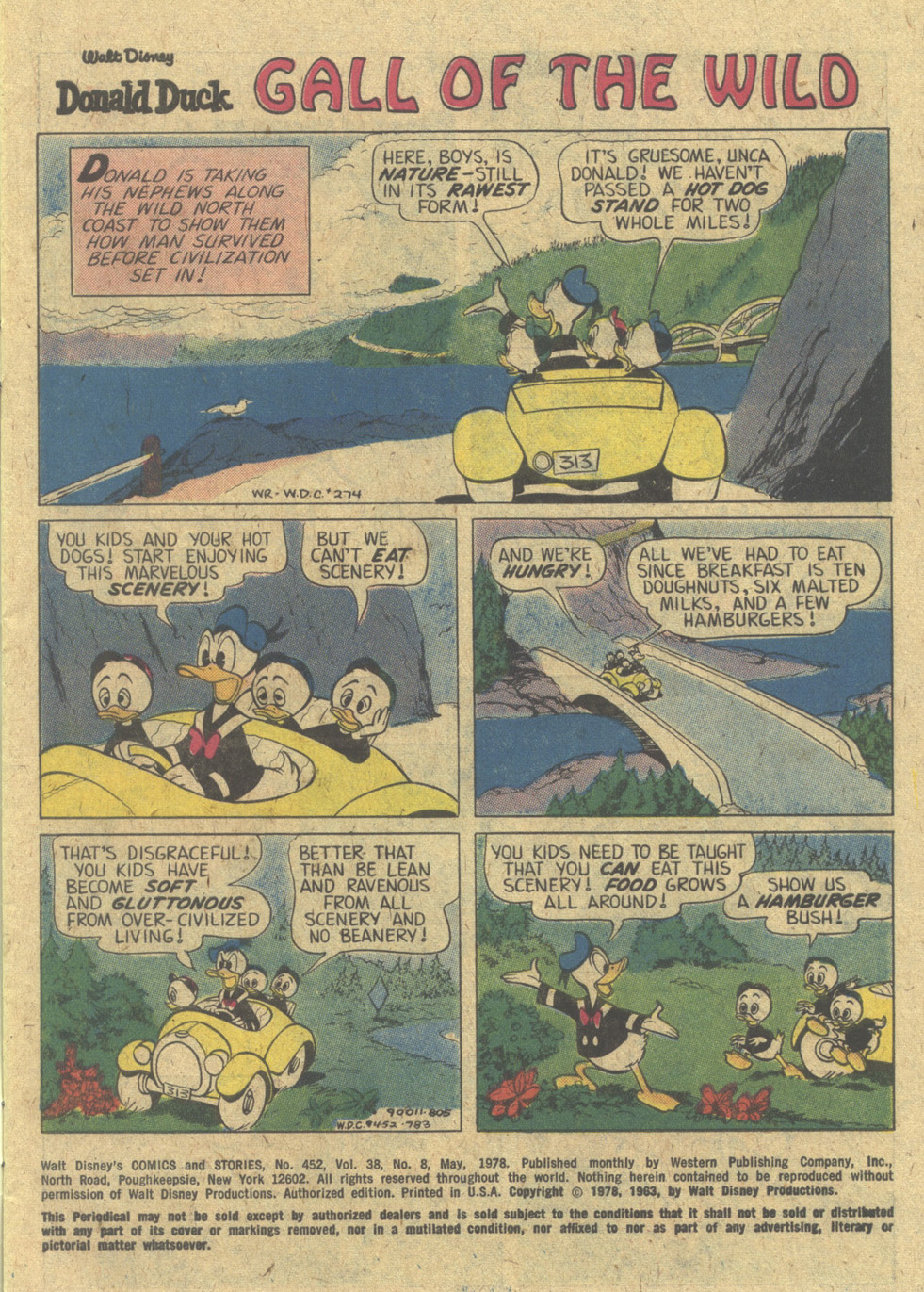 Walt Disney's Comics and Stories issue 452 - Page 3