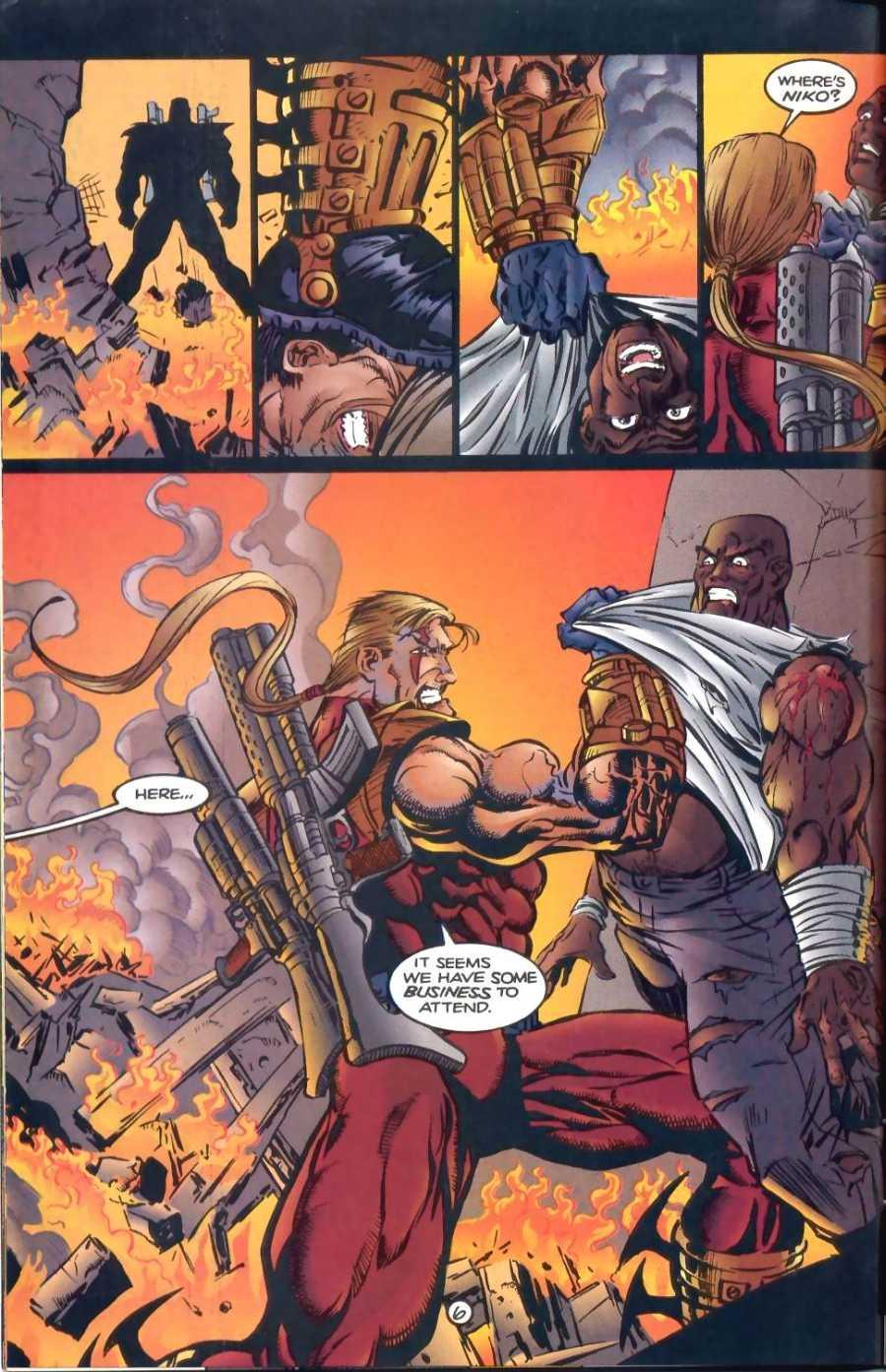 Read online Ultraverse Premiere comic -  Issue #1 - 18