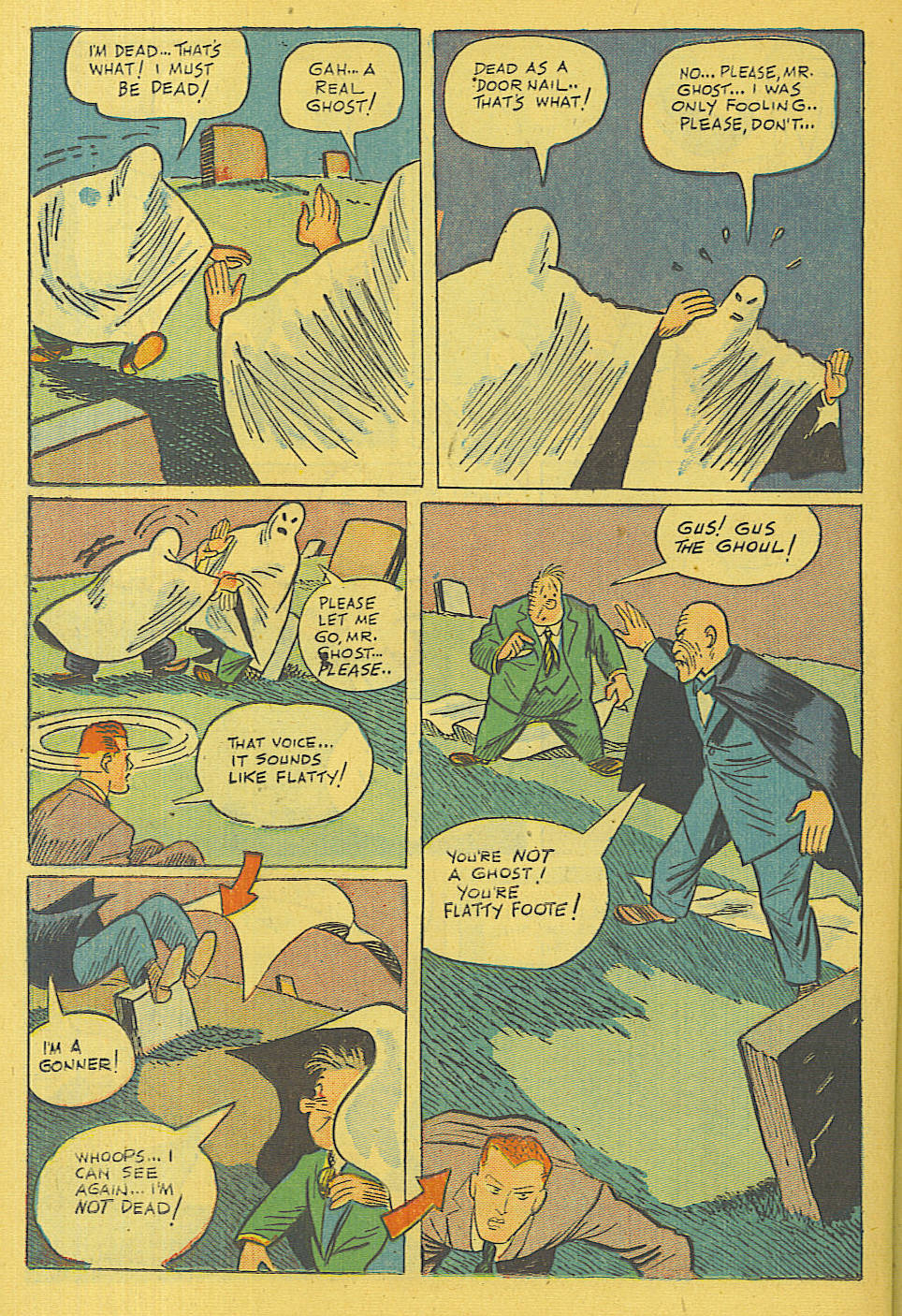 Read online Shadow Comics comic -  Issue #71 - 30
