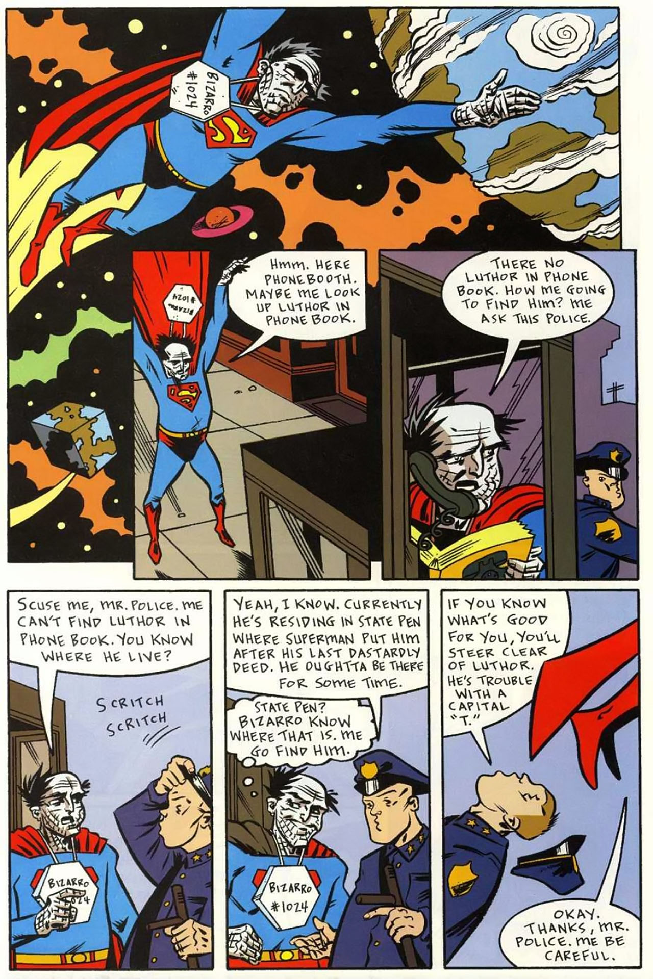Read online Bizarro World comic -  Issue # TPB - 95