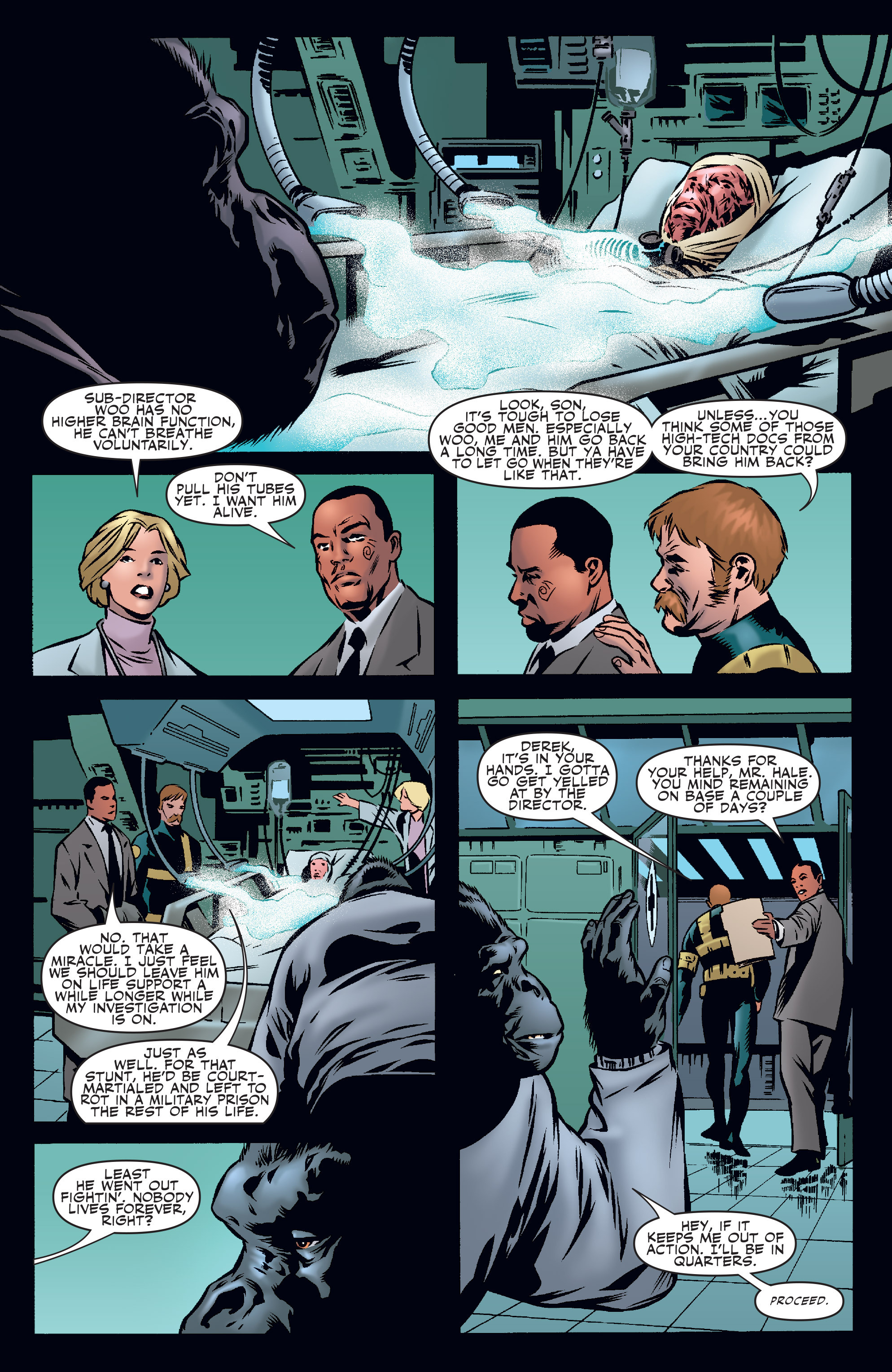 Read online Agents Of Atlas (2006) comic -  Issue #1 - 13