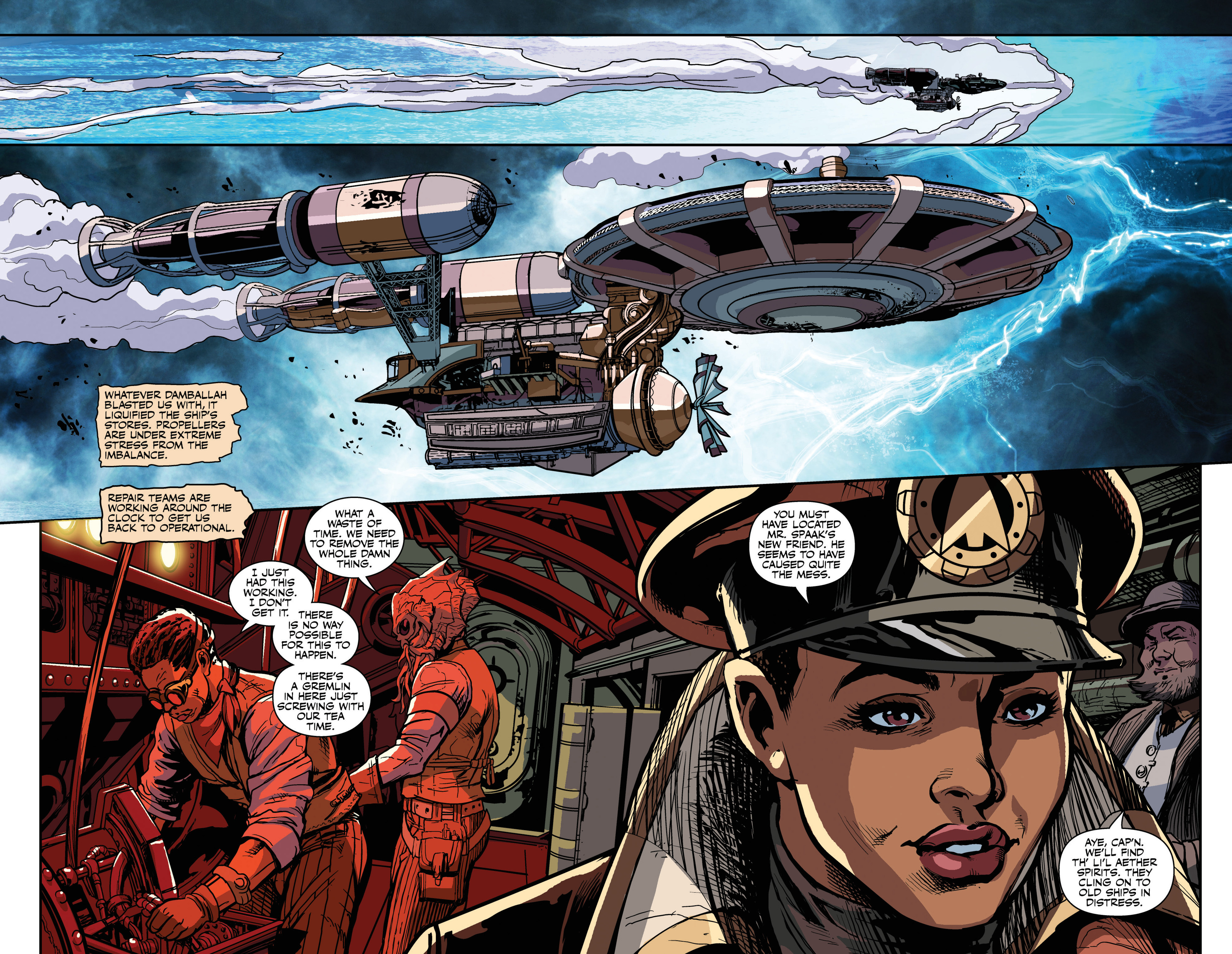 Read online Airship Enterprise: The Infernal Machine comic -  Issue #3 - 8