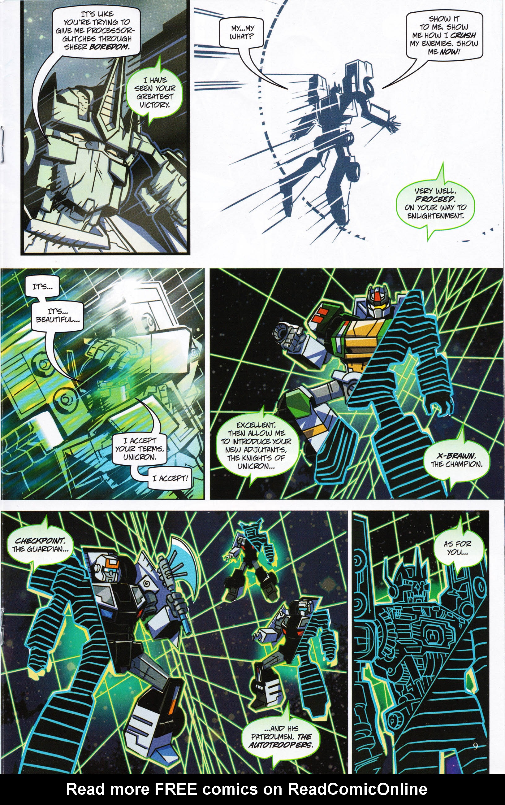 Read online Transformers: Collectors' Club comic -  Issue #65 - 9