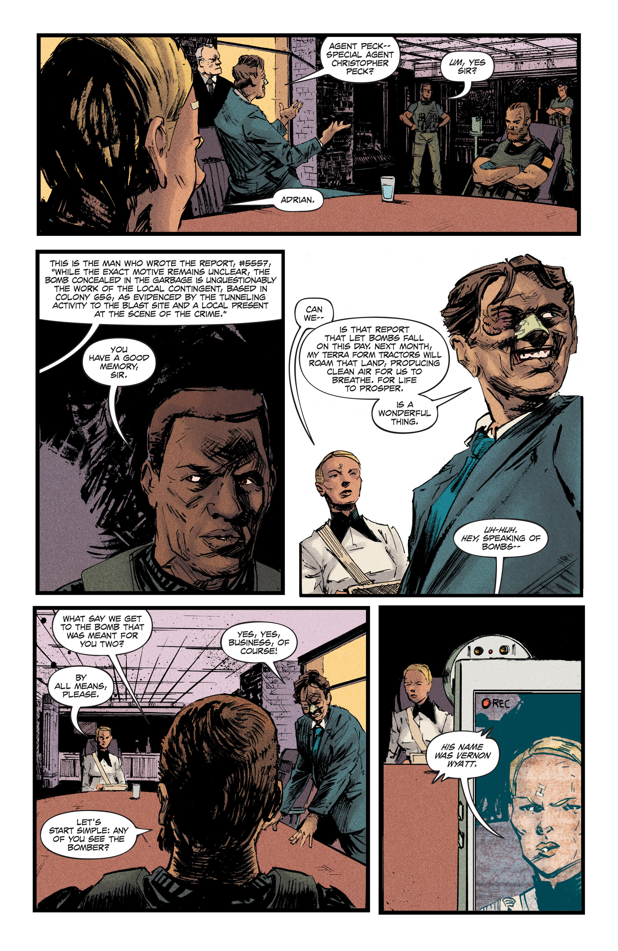 Read online Redline comic -  Issue #2 - 12